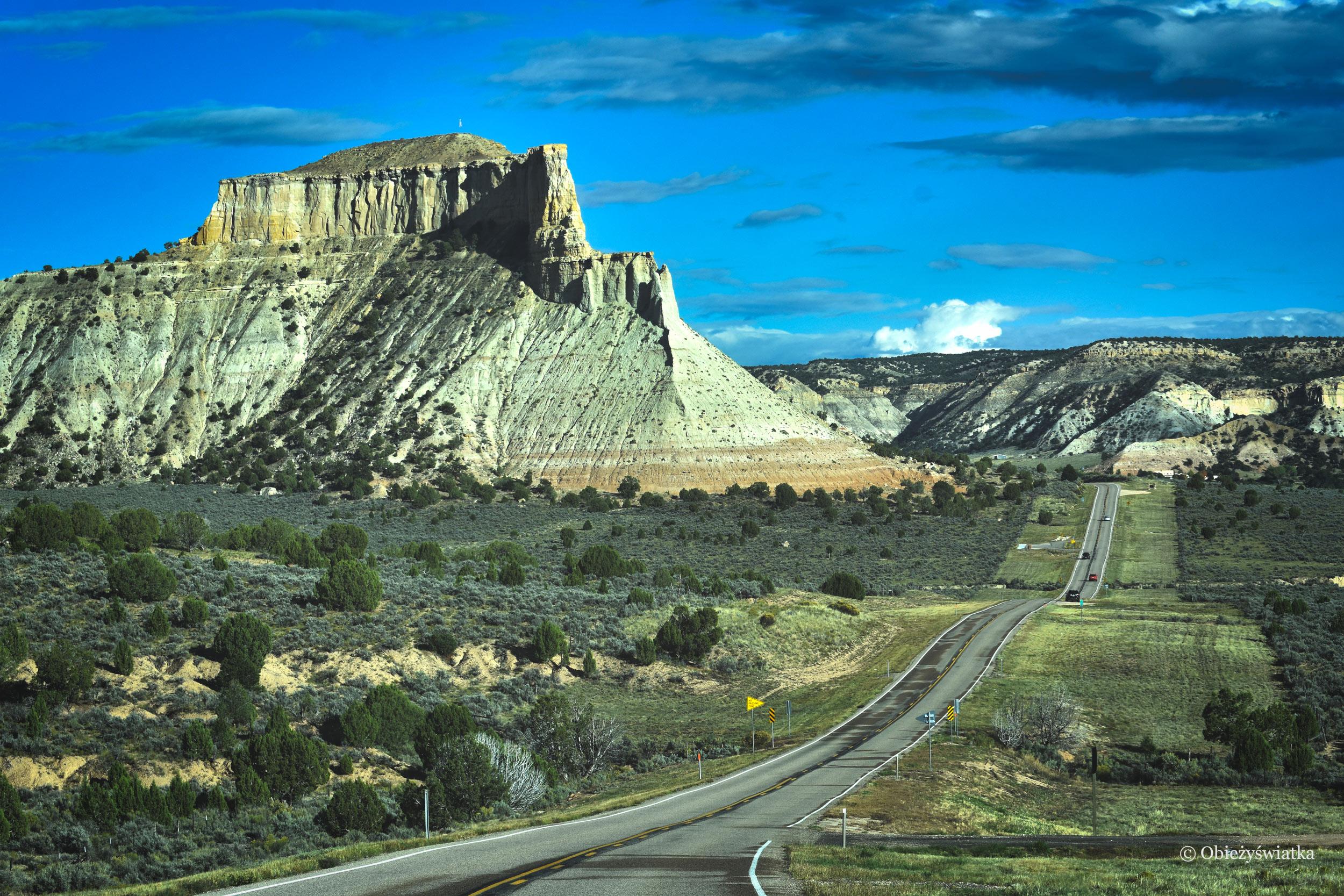 Rozglądając się na boki - Highway 12, Utah