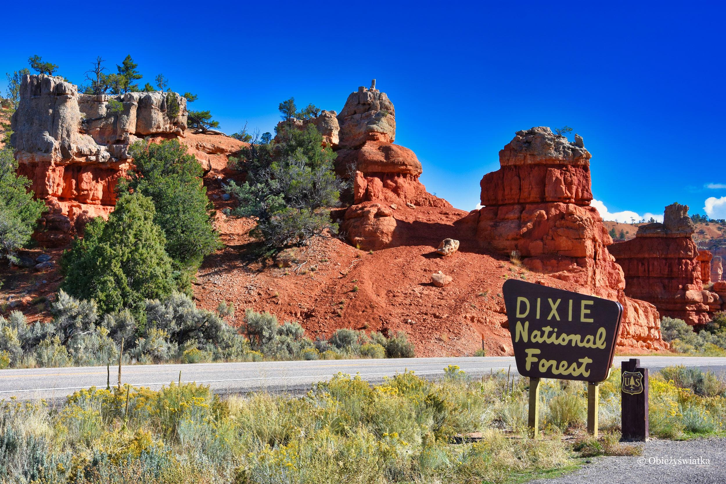 Highway 12 - w drodze przez Red Canyon