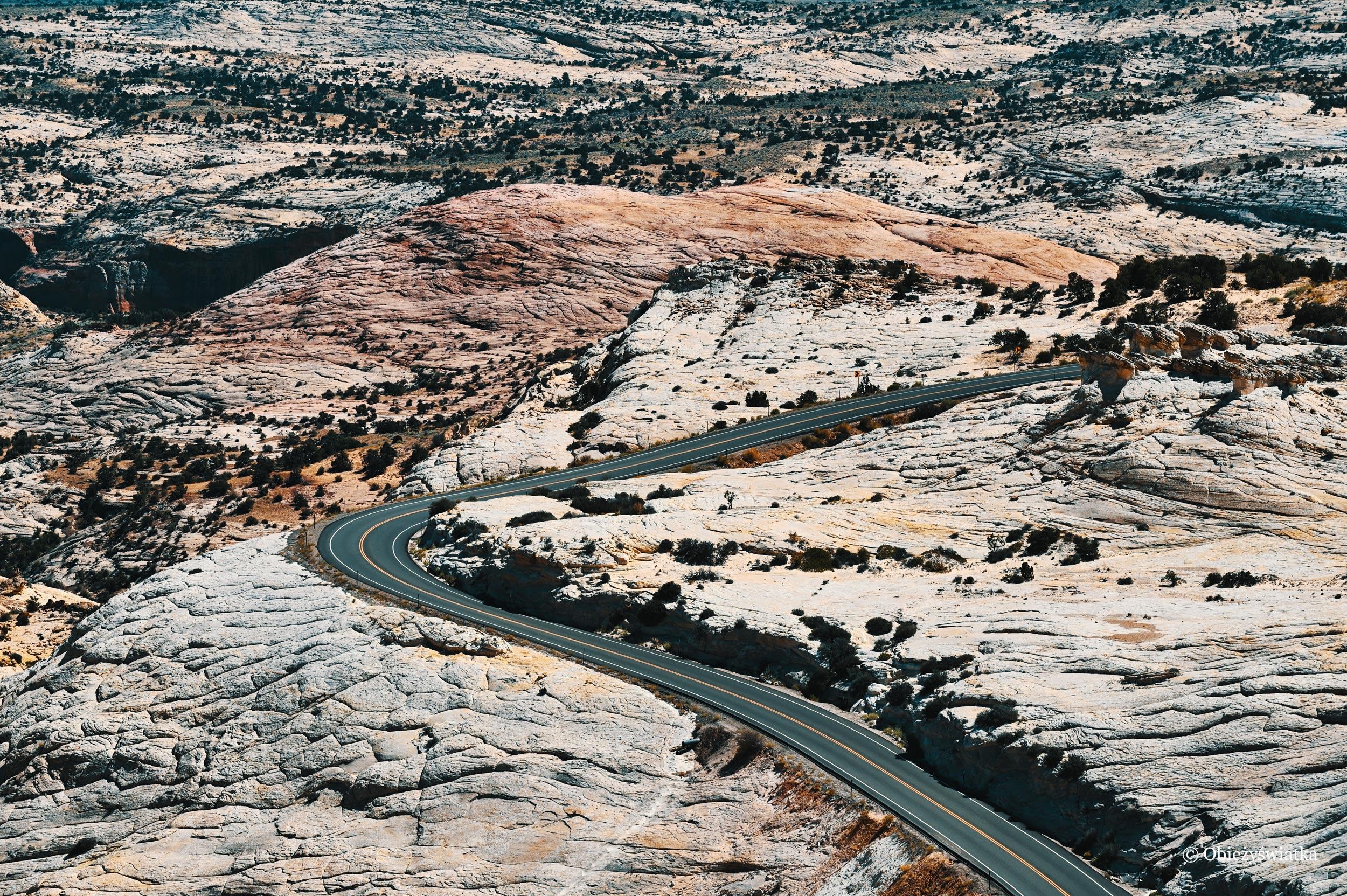 Wstęga drogi - Highway 12, Utah