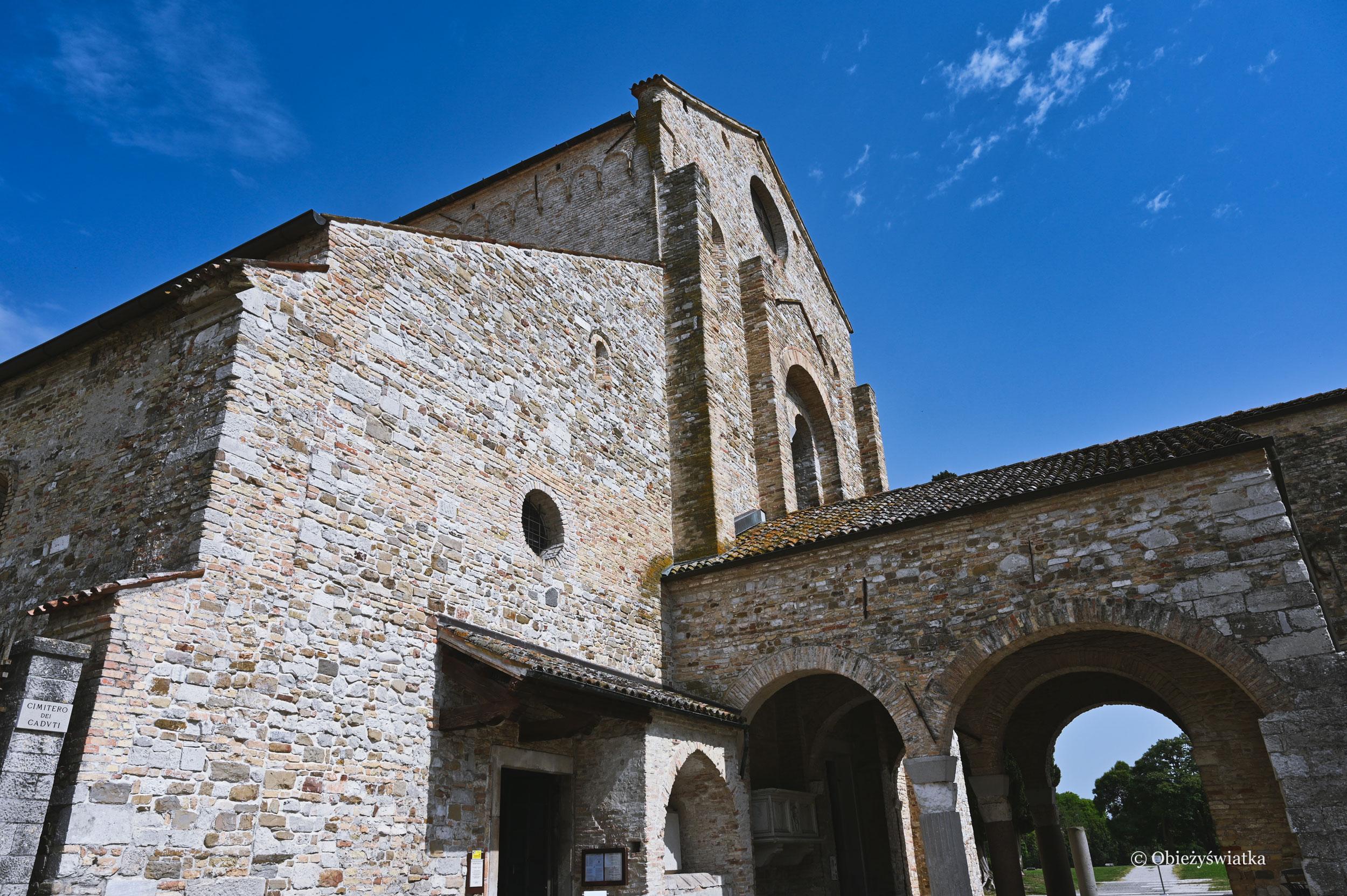 Widok z zewnątrz - Bazylika w Akwilei, Włochy