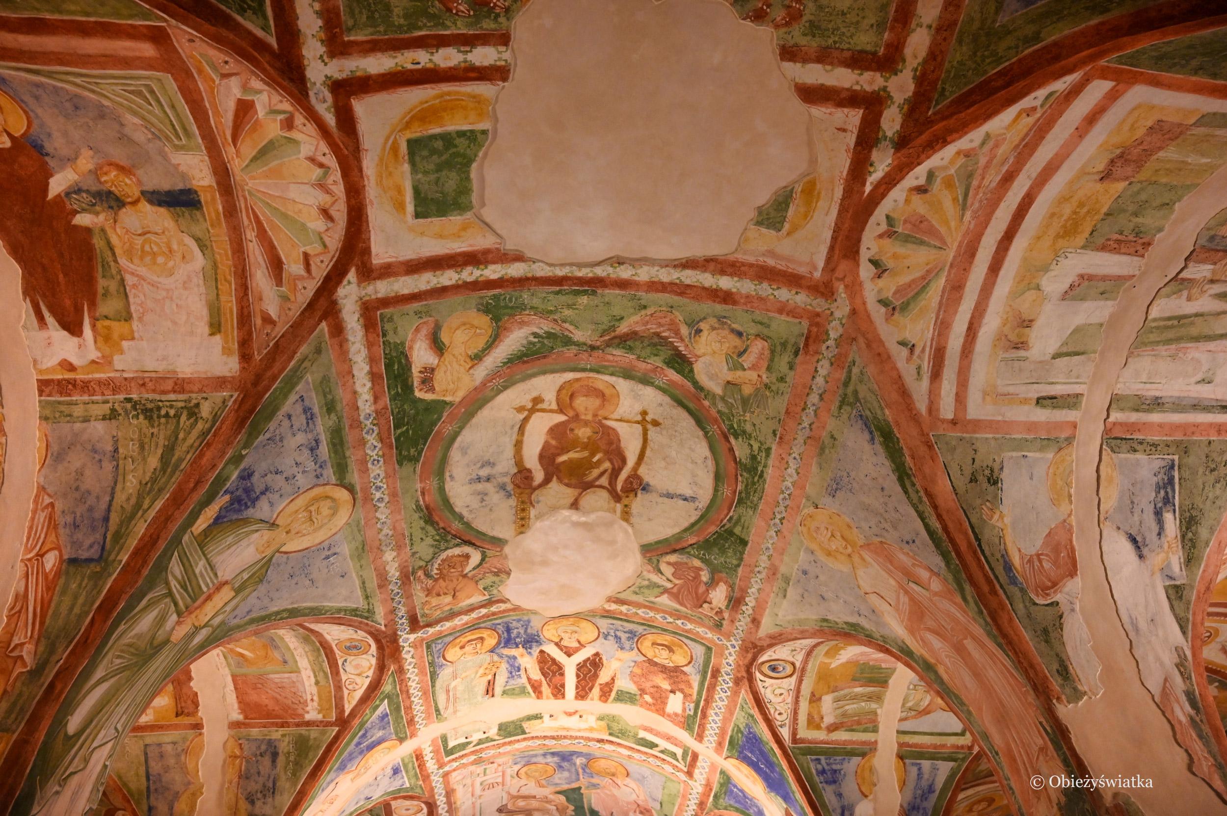 Sklepienie w Kaplicy Fresków, Bazylika w Akwilei