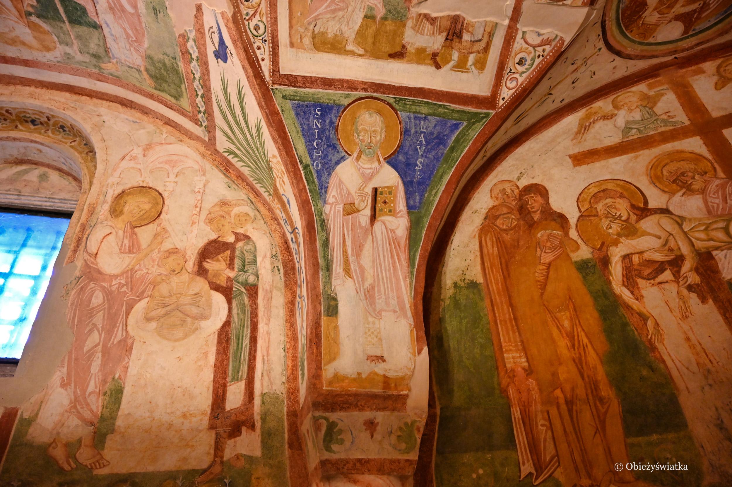 Jeden z motywów - Kaplica Fresków w Akwilei