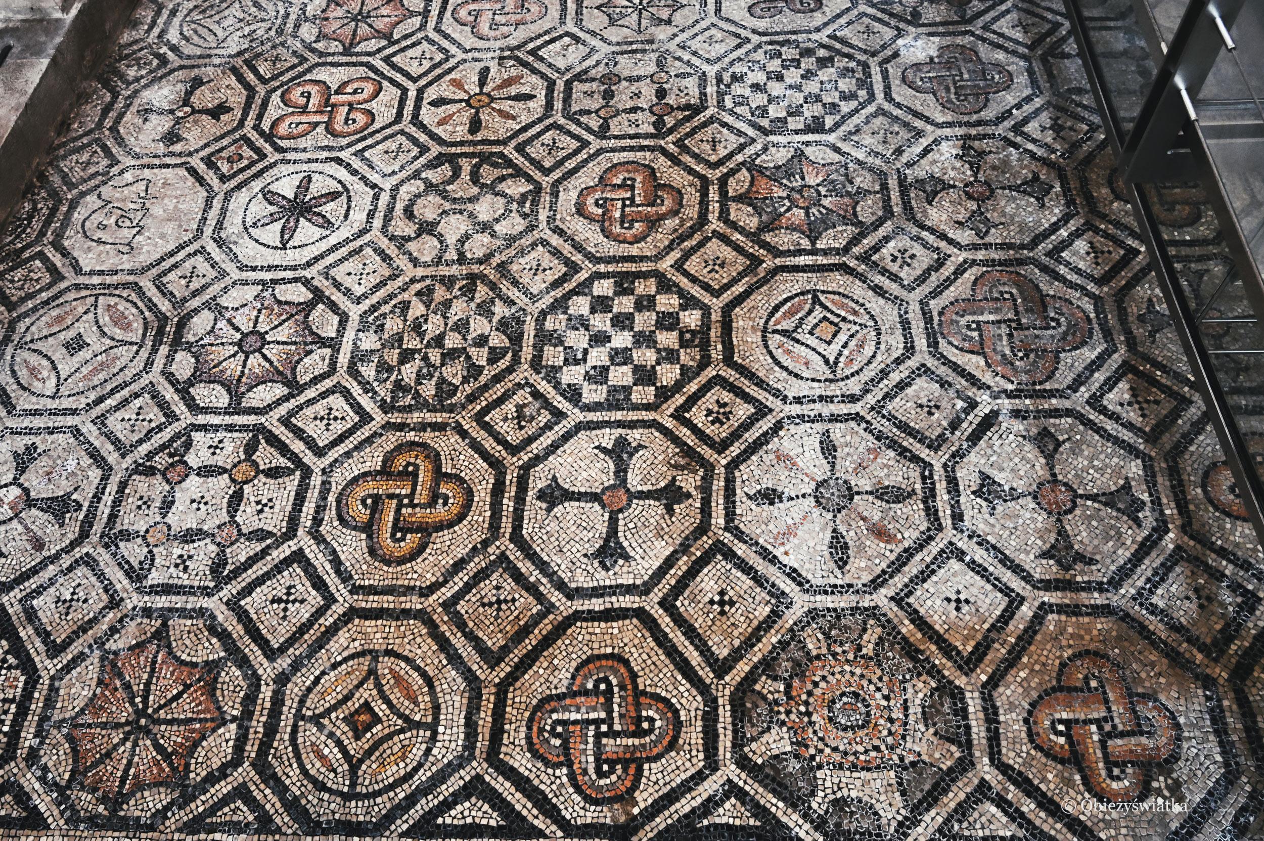 Mozaika - Bazylika w Akwilei