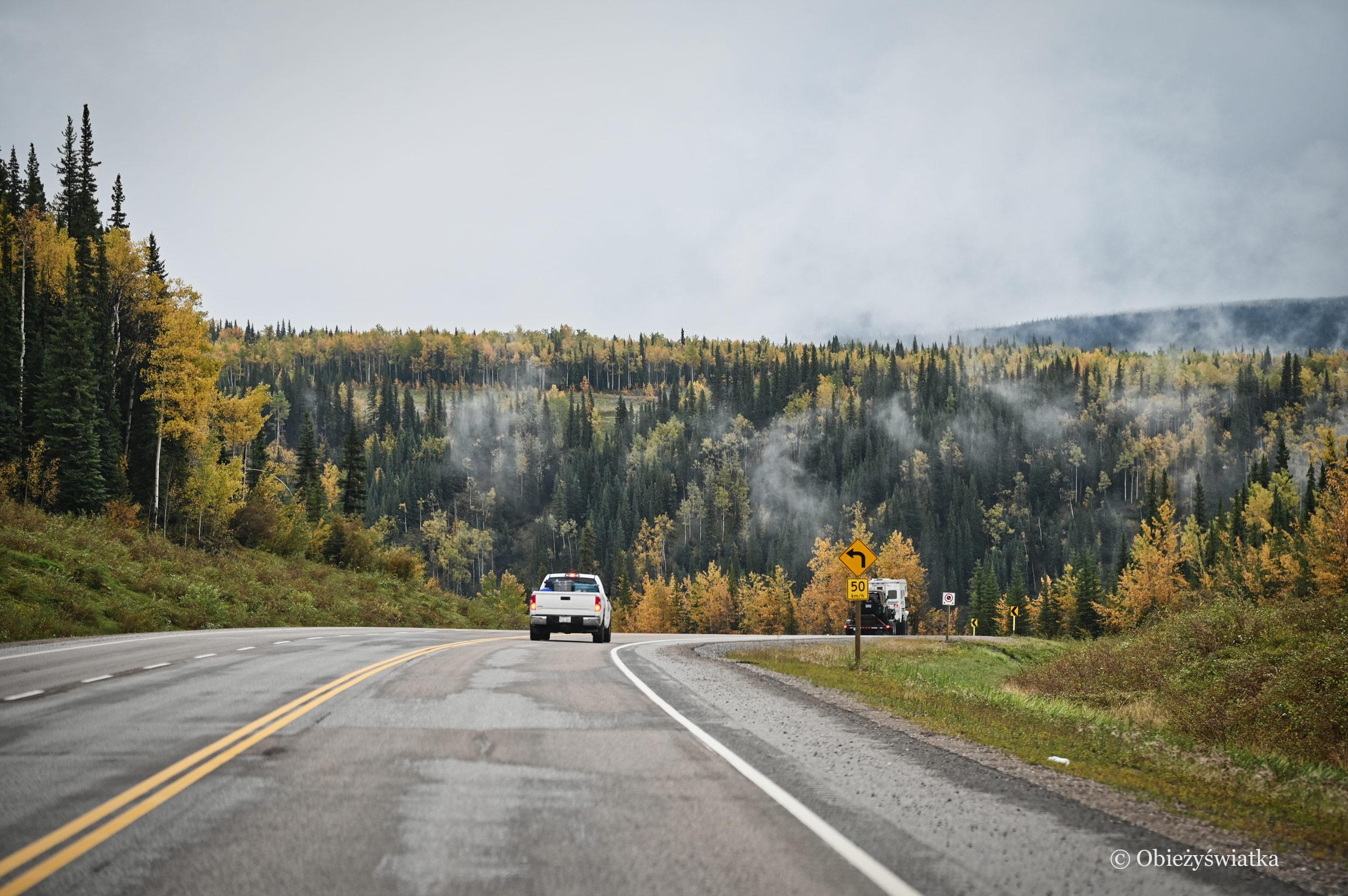 Legendarna droga Alaska Highway, Kanada
