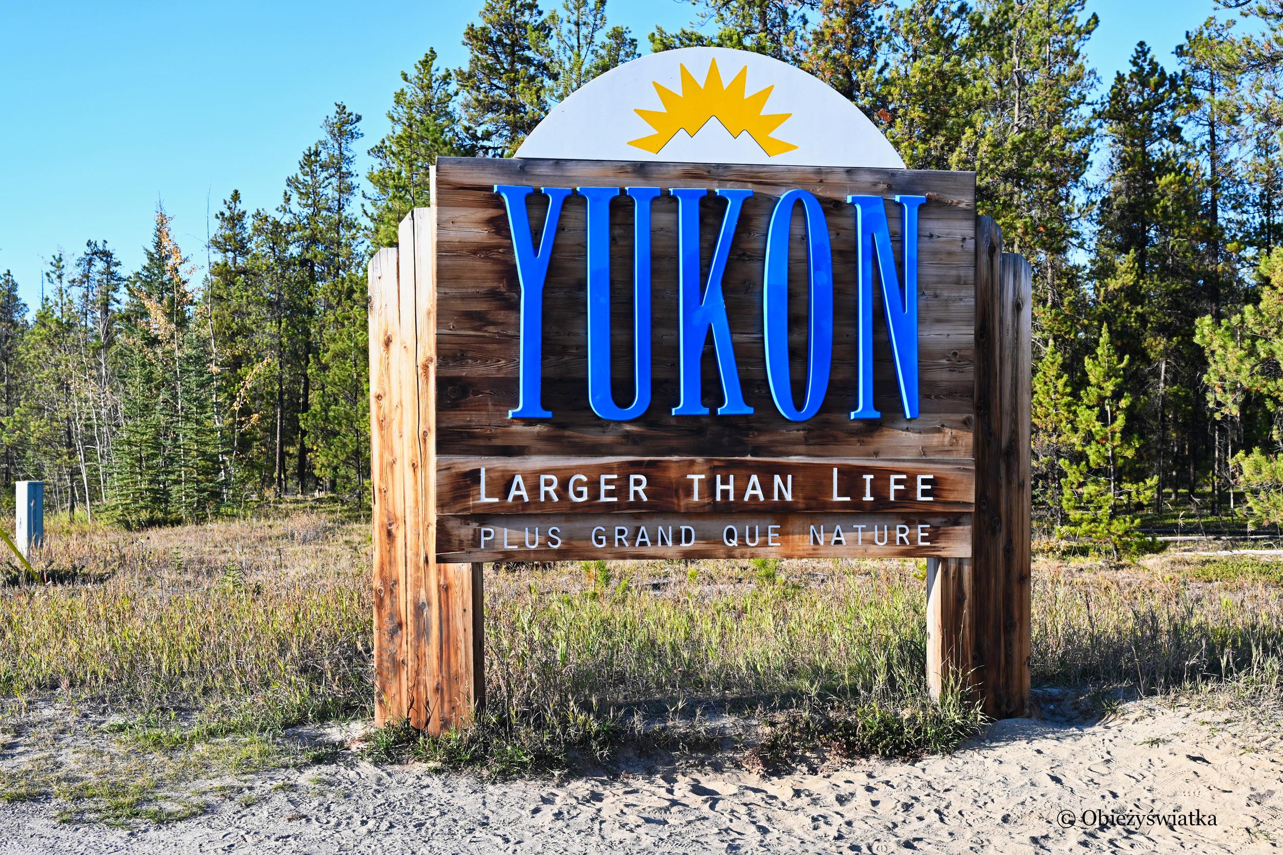 Welcome to Yukon, Canada