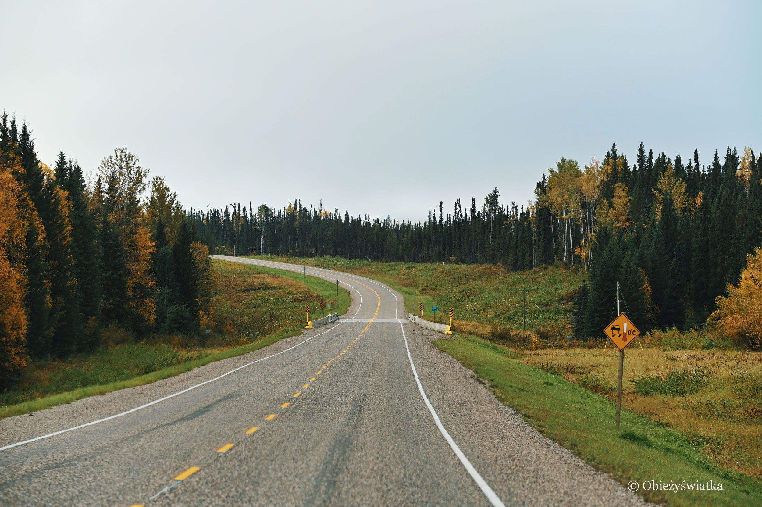 Droga Alaska Highway, Kanada