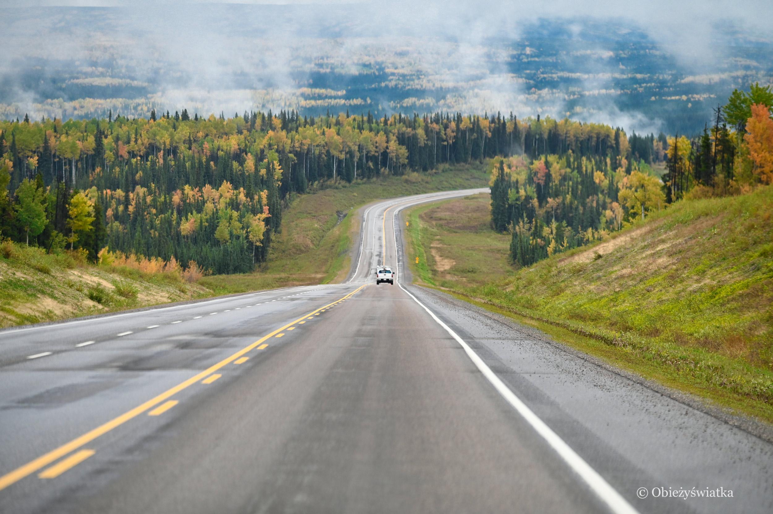 Jesienią przez Kanadę, Alaska Highway