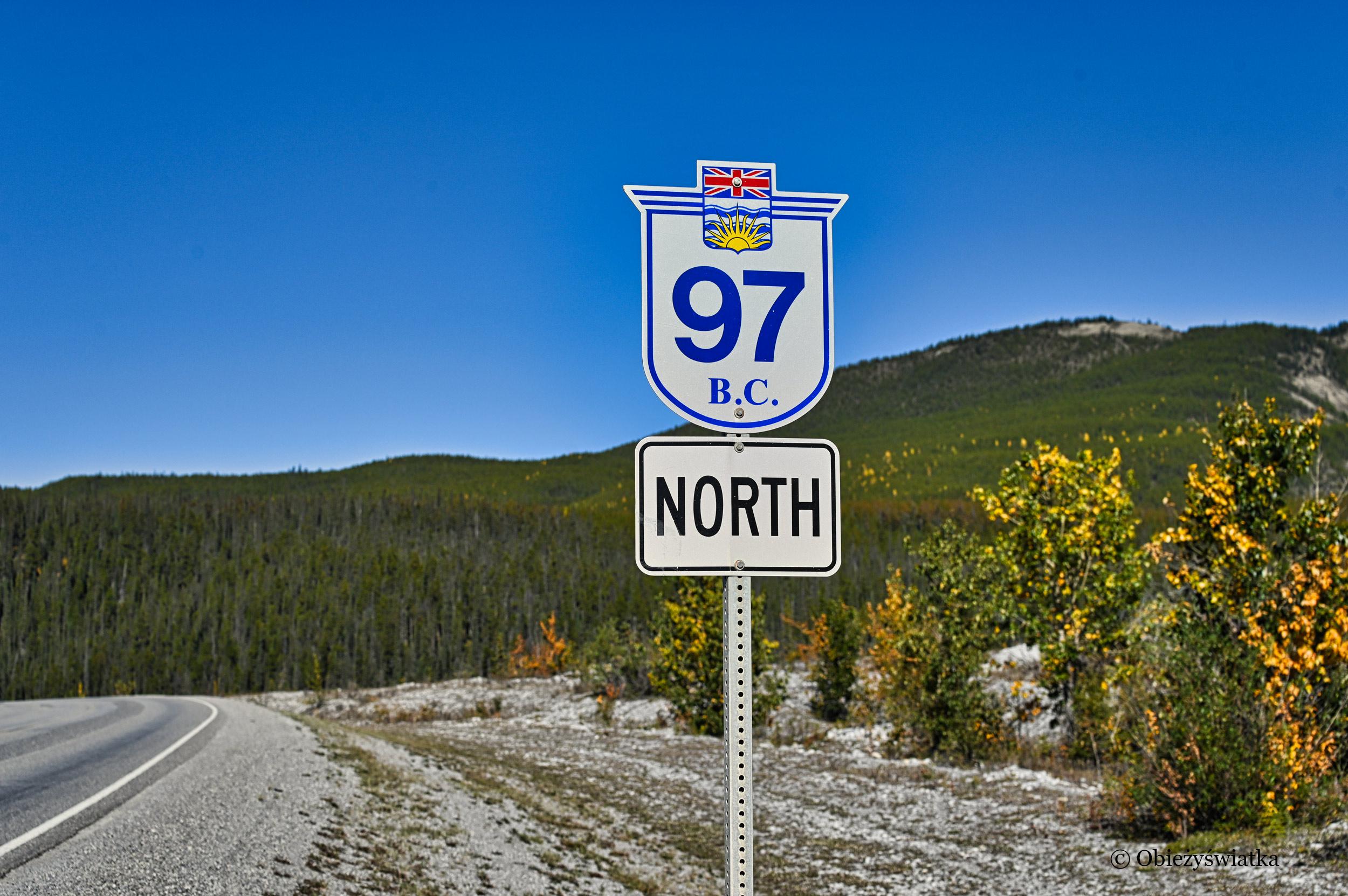 Droga nr 97 w Kolumbii Brytyjskiej, czyli Alaska Highway