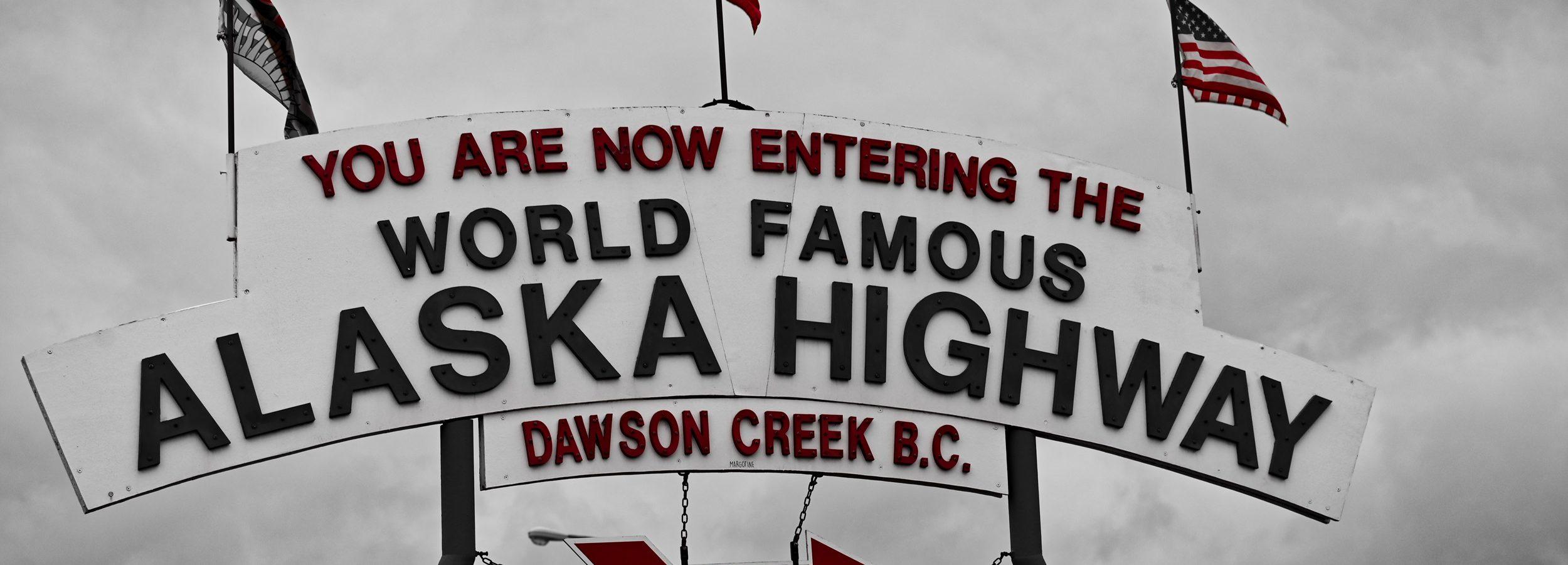 Alaska Highway, Kanada