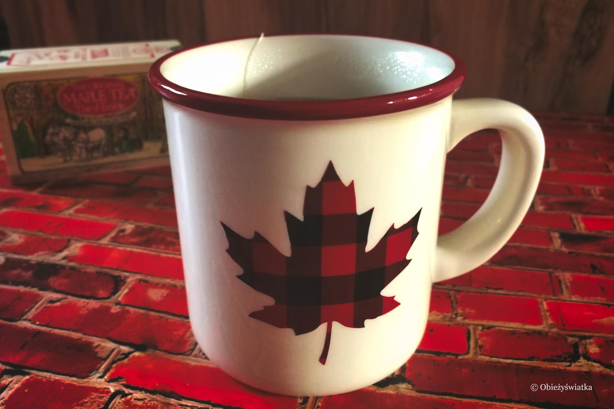 Kanadyjska herbata z syropem klonowym