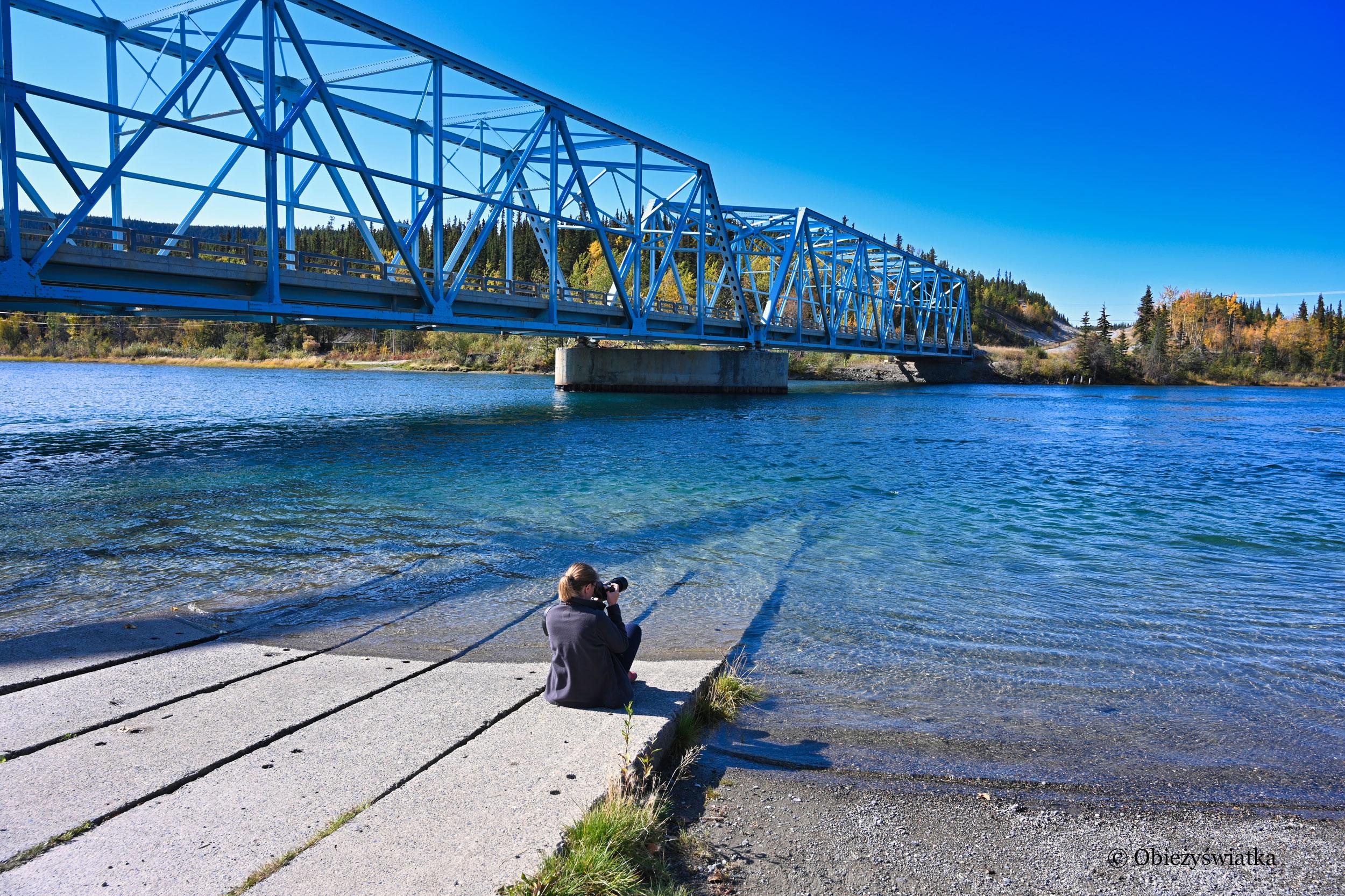 Nad rzeką Yukon, Kanada