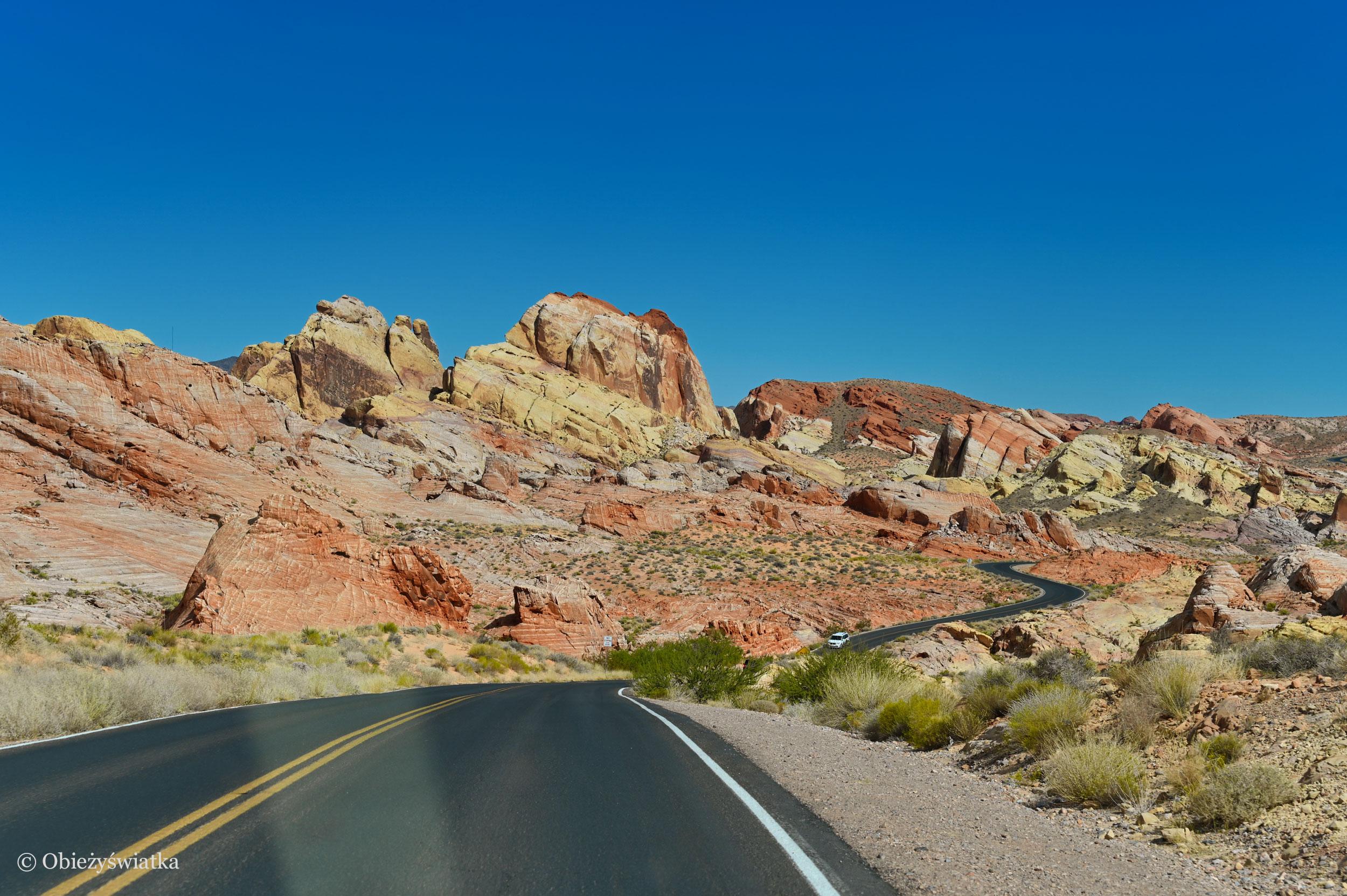 Dolina Ognia, Nevada