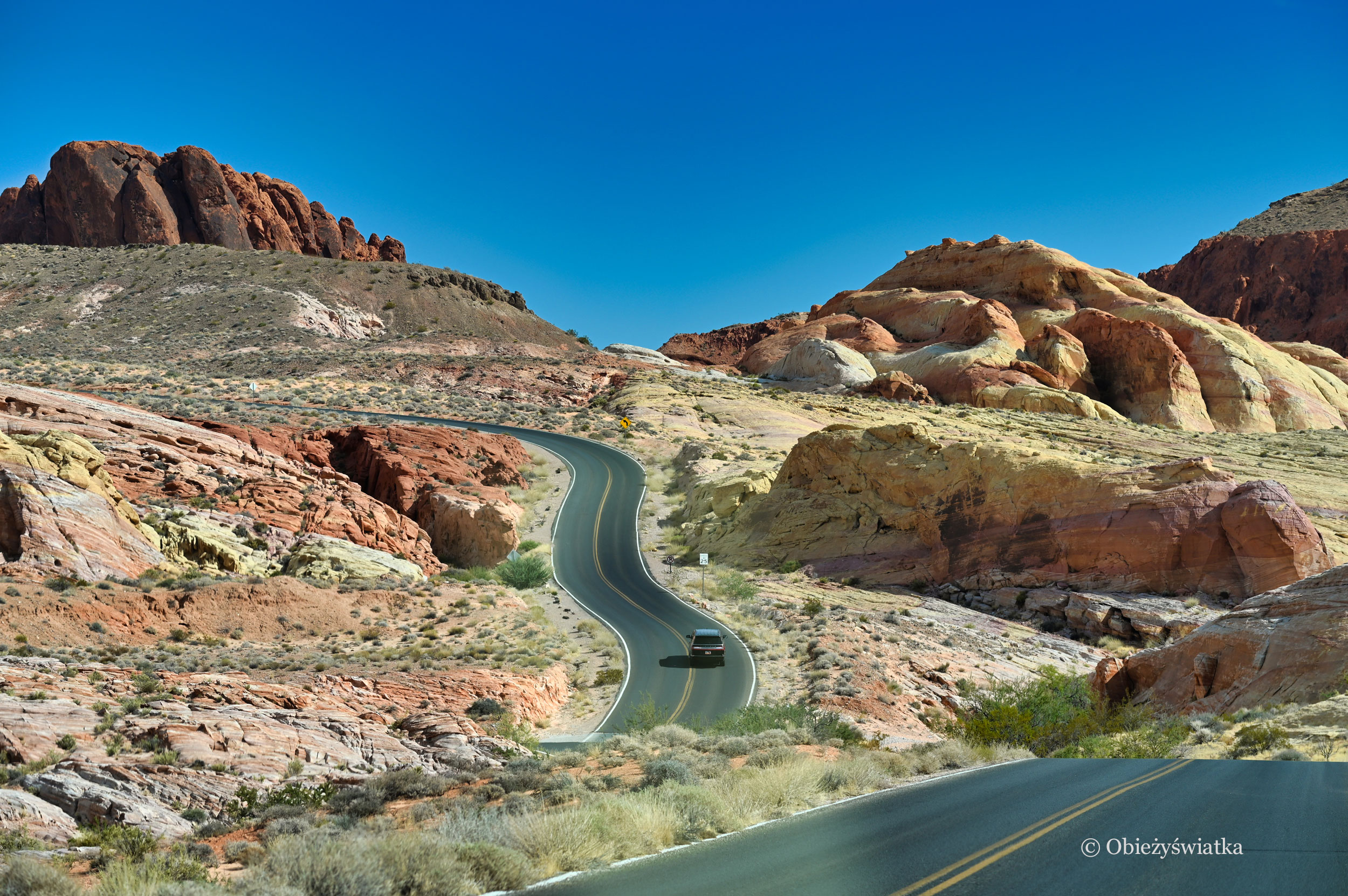 Scenic Road, Valley of Fire, Nevada