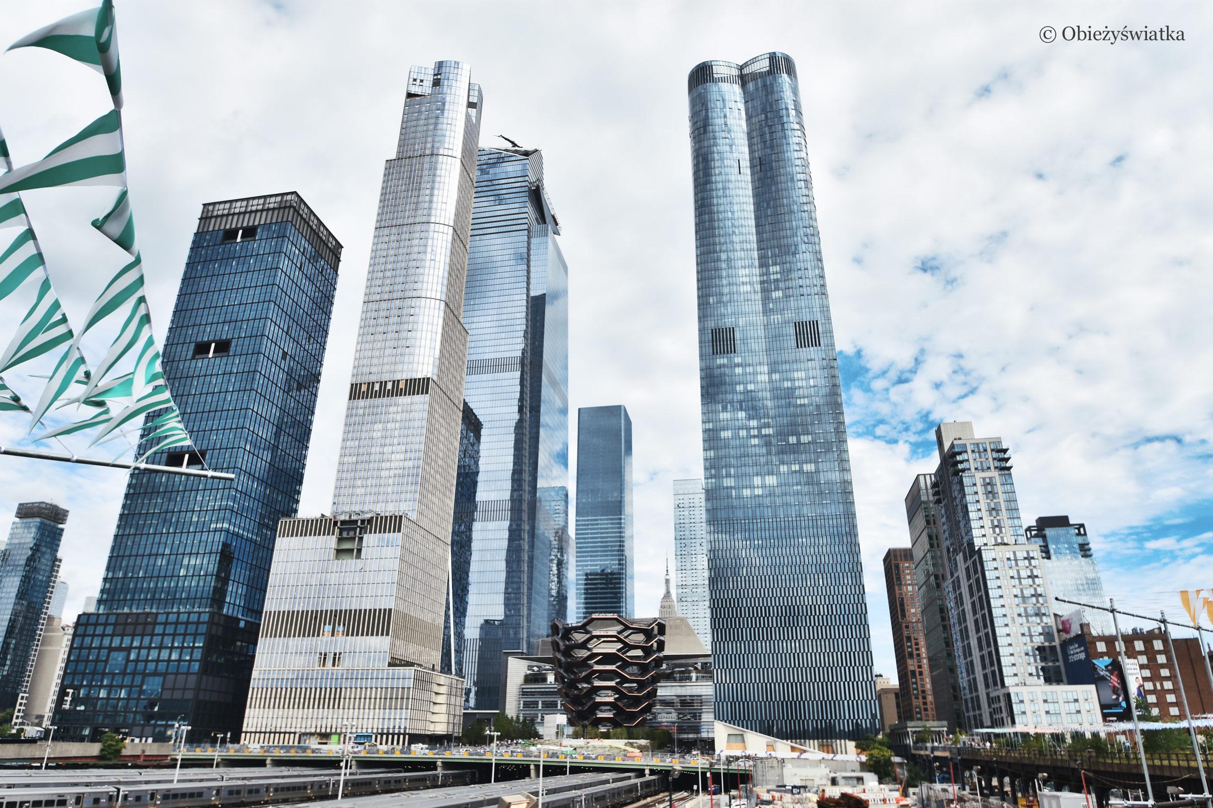 The Vessel i nowojorskie drapacze chmur