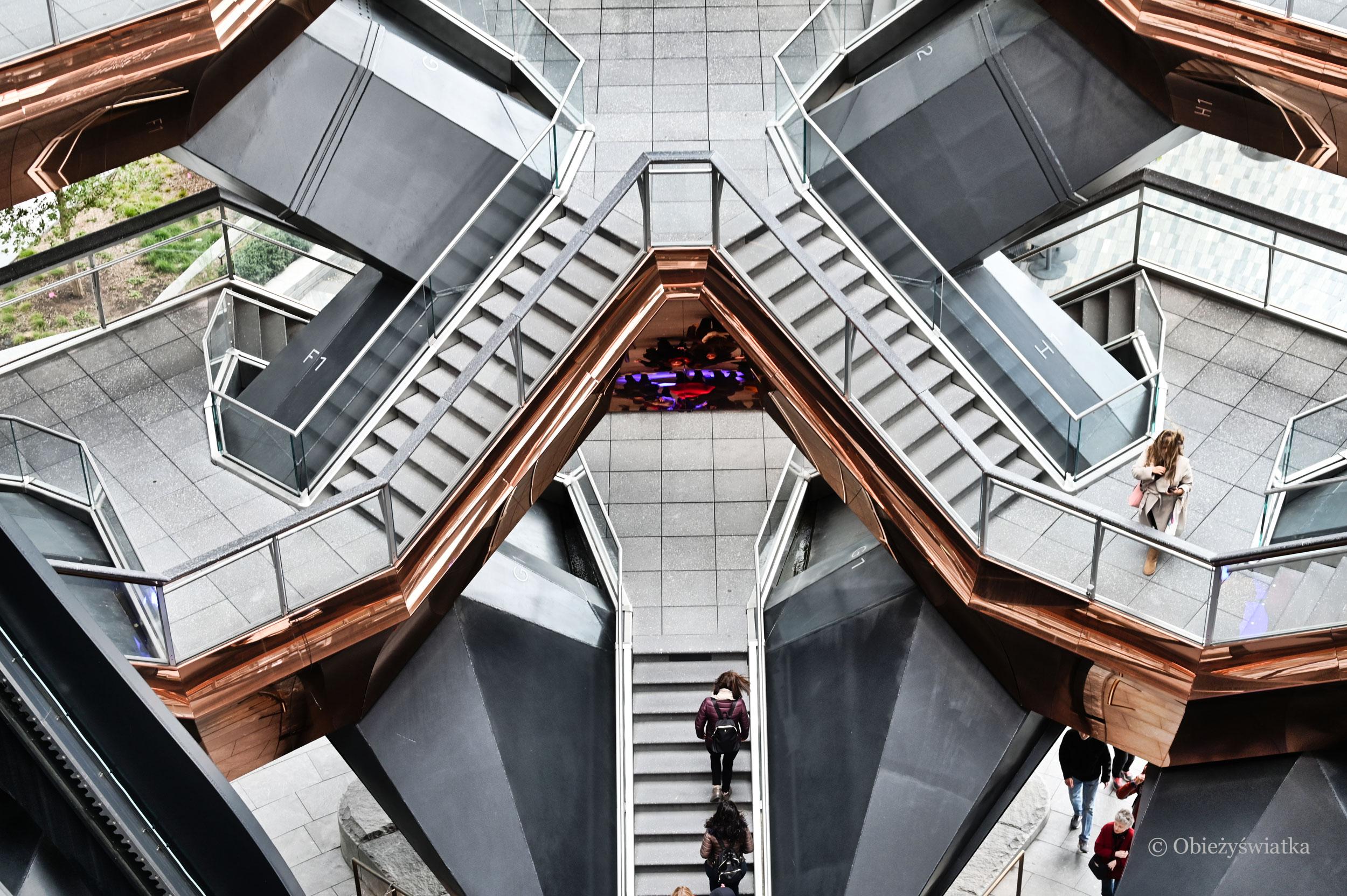 W królestwie schodów - The Vessel, Nowy Jork