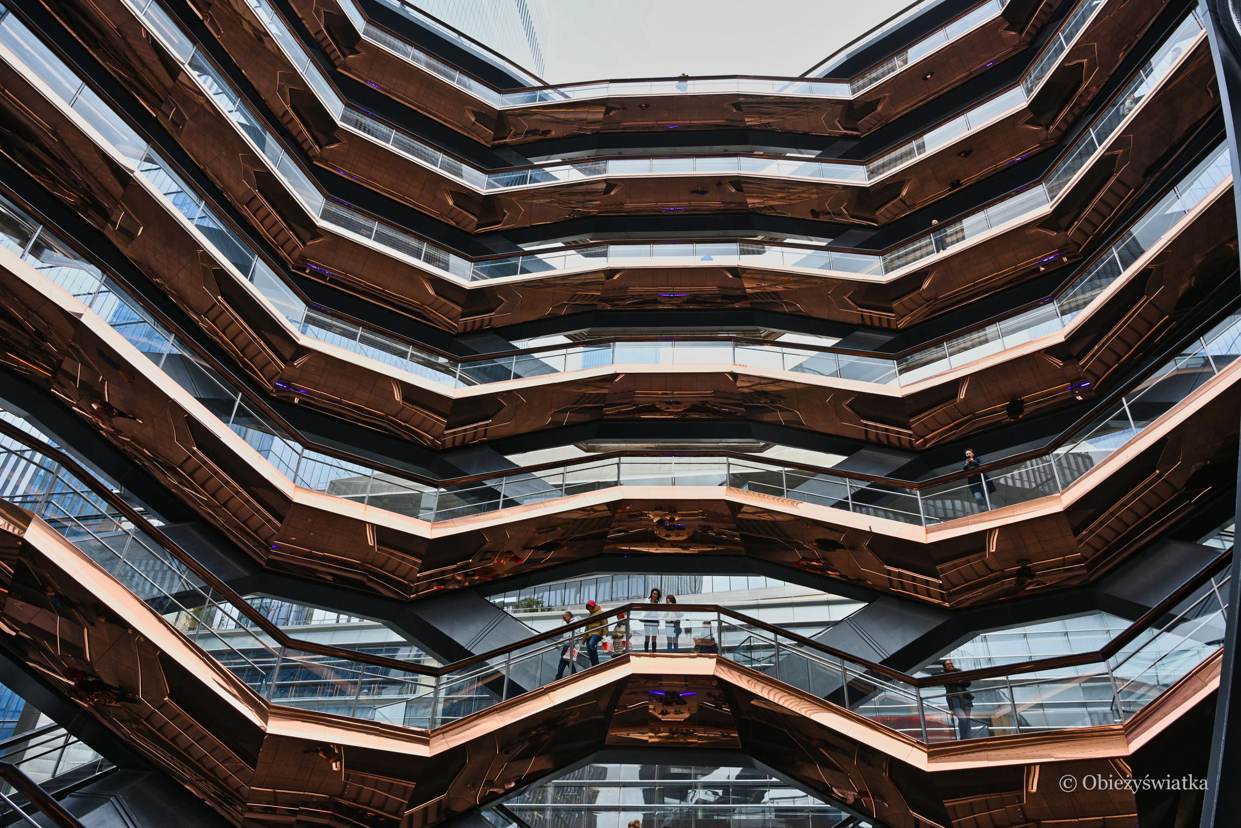 Nowojorska platforma widokowa - The Vessel