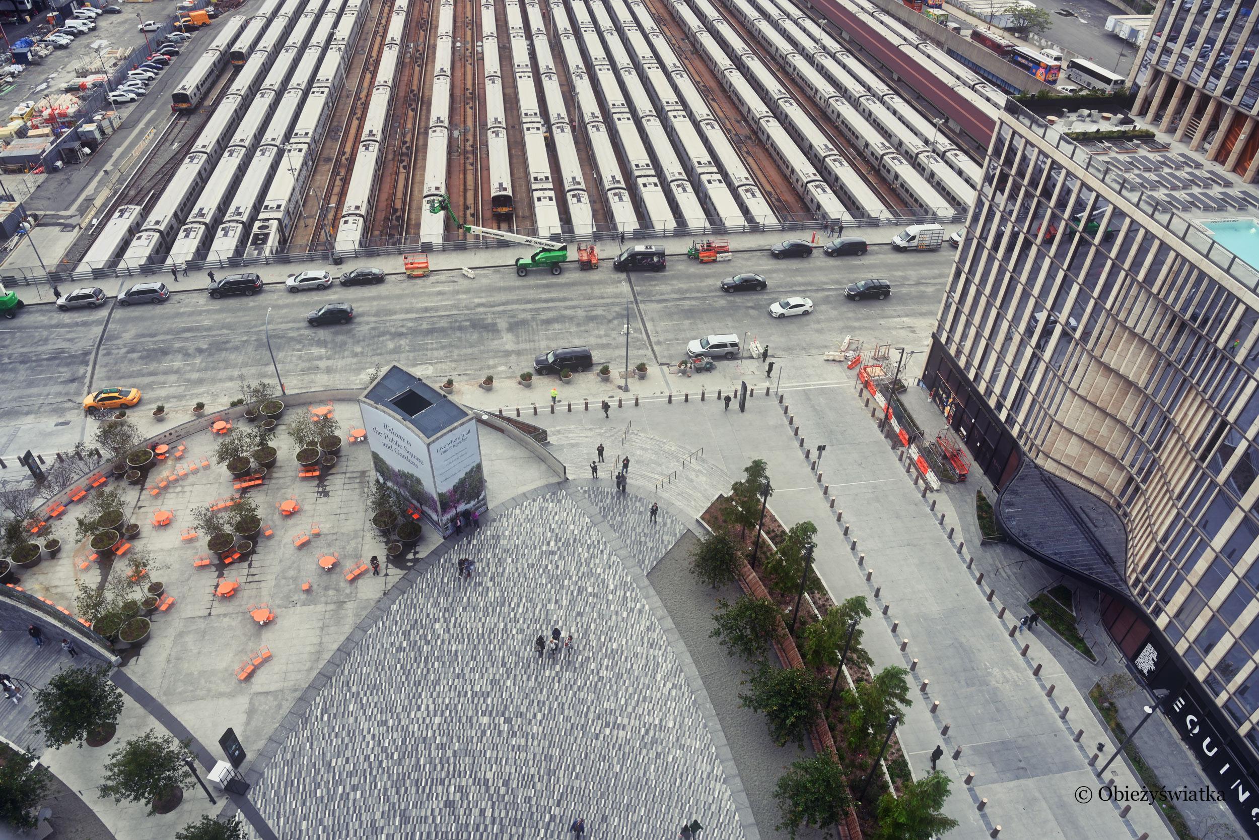 Obrazki nowojorskie - widok z platformy The Vessel