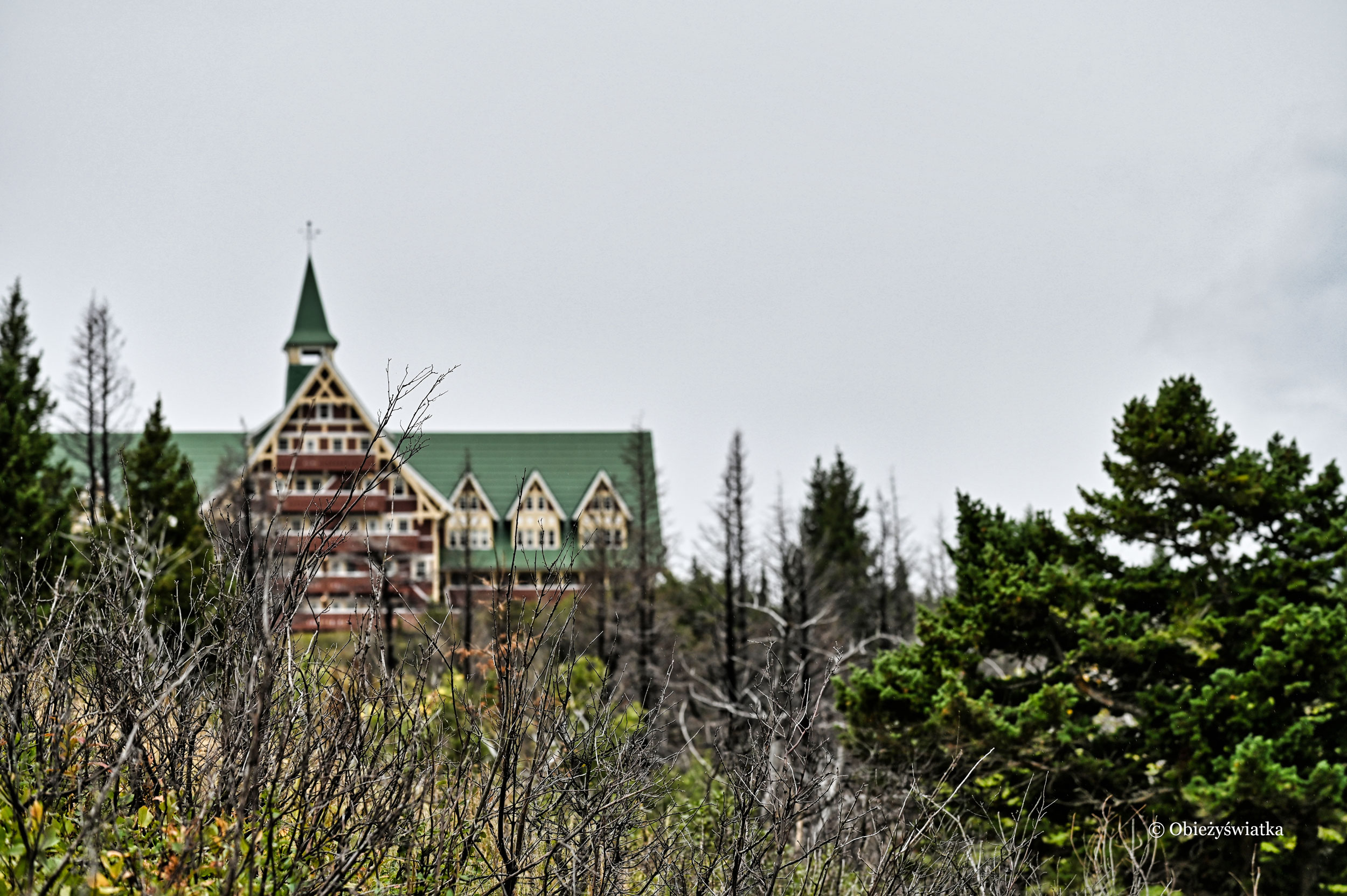 Hotel Prince of Wales, Waterton Lakes National Park, Kanada