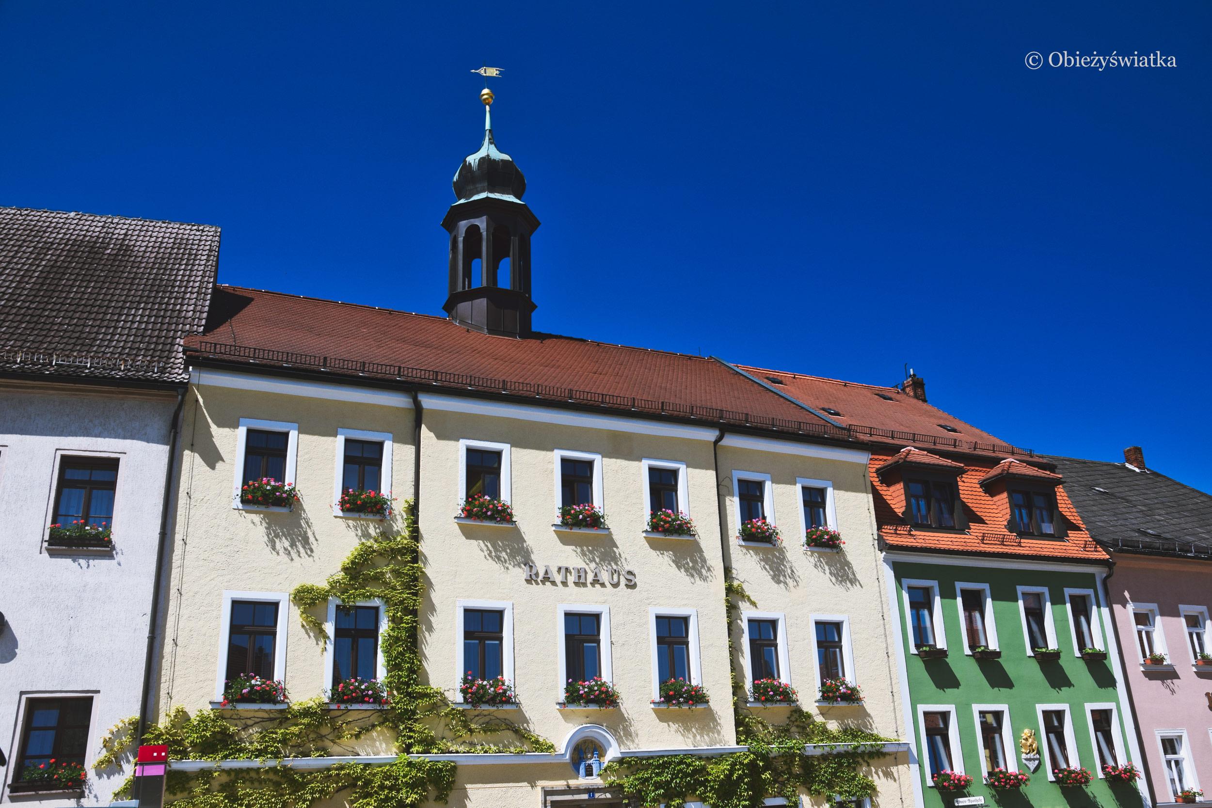 Ratusz miasteczka Stolpen