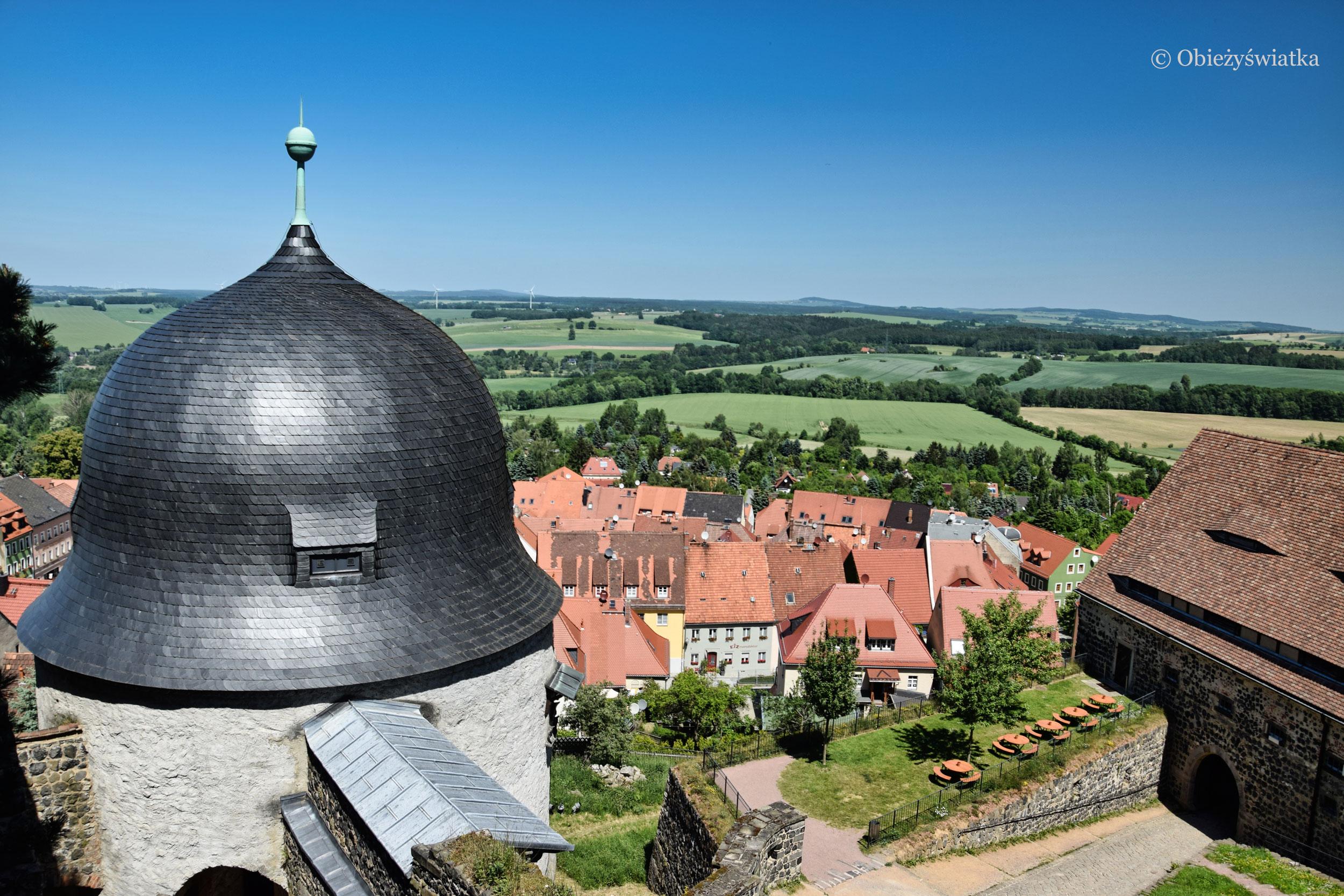 Zamek i miasteczko Stolpen
