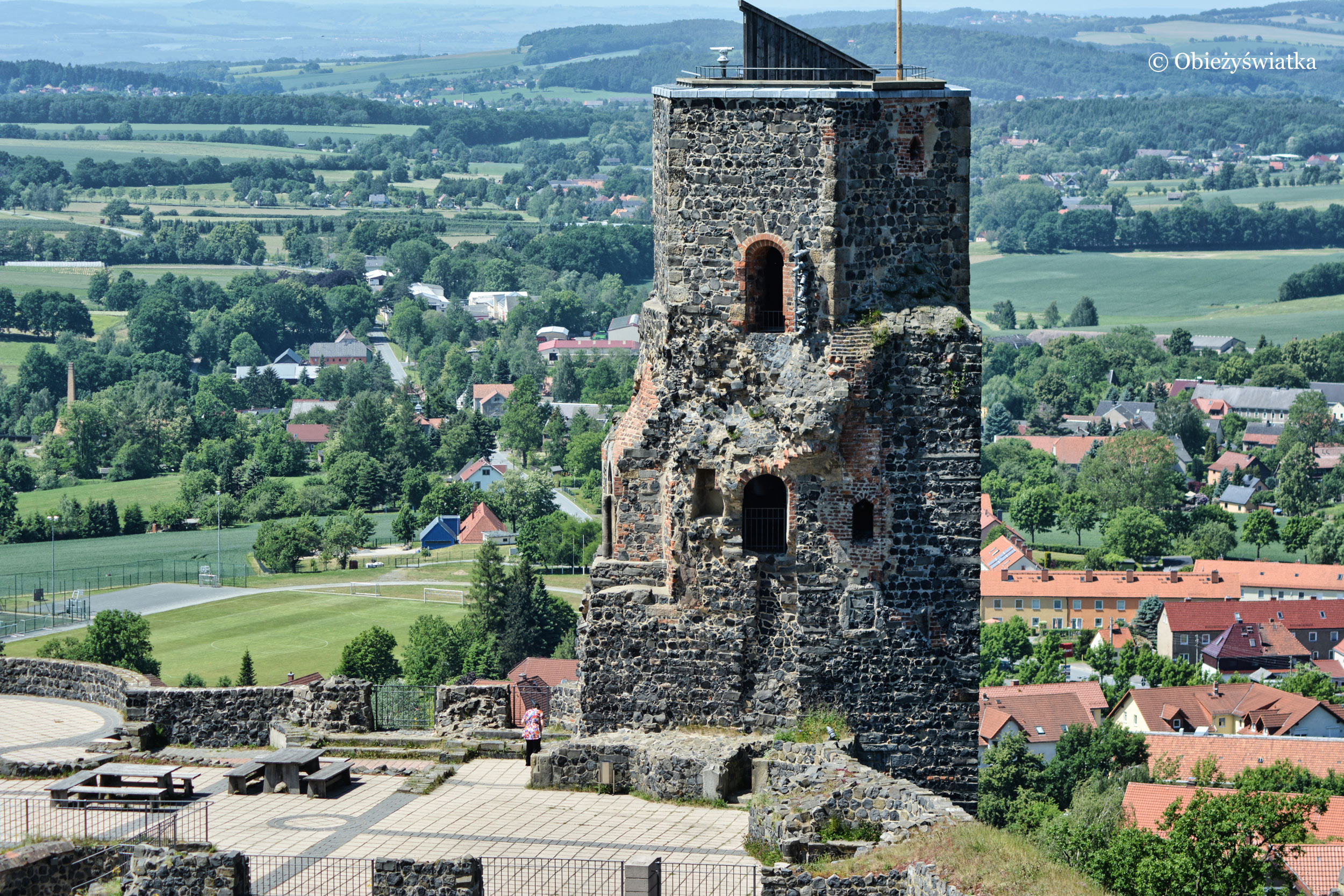 Zamek Stolpen - więzienie dla hrabiny Cosel