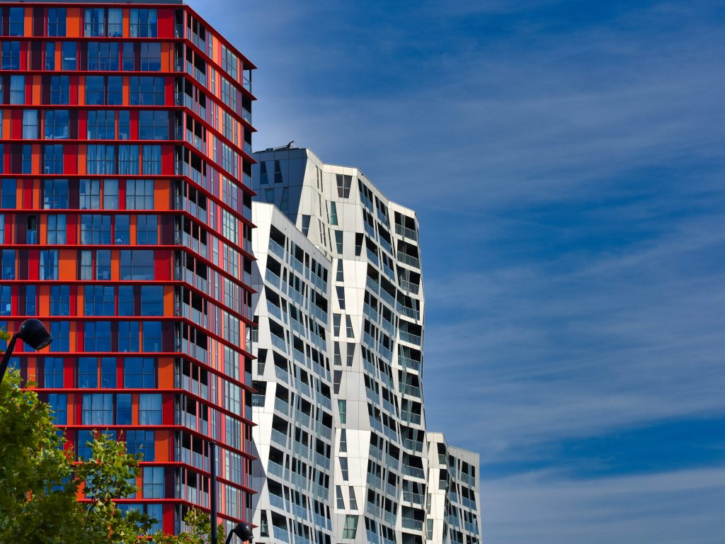 Nowoczesna architektura Rotterdamu - kompleks Calypso