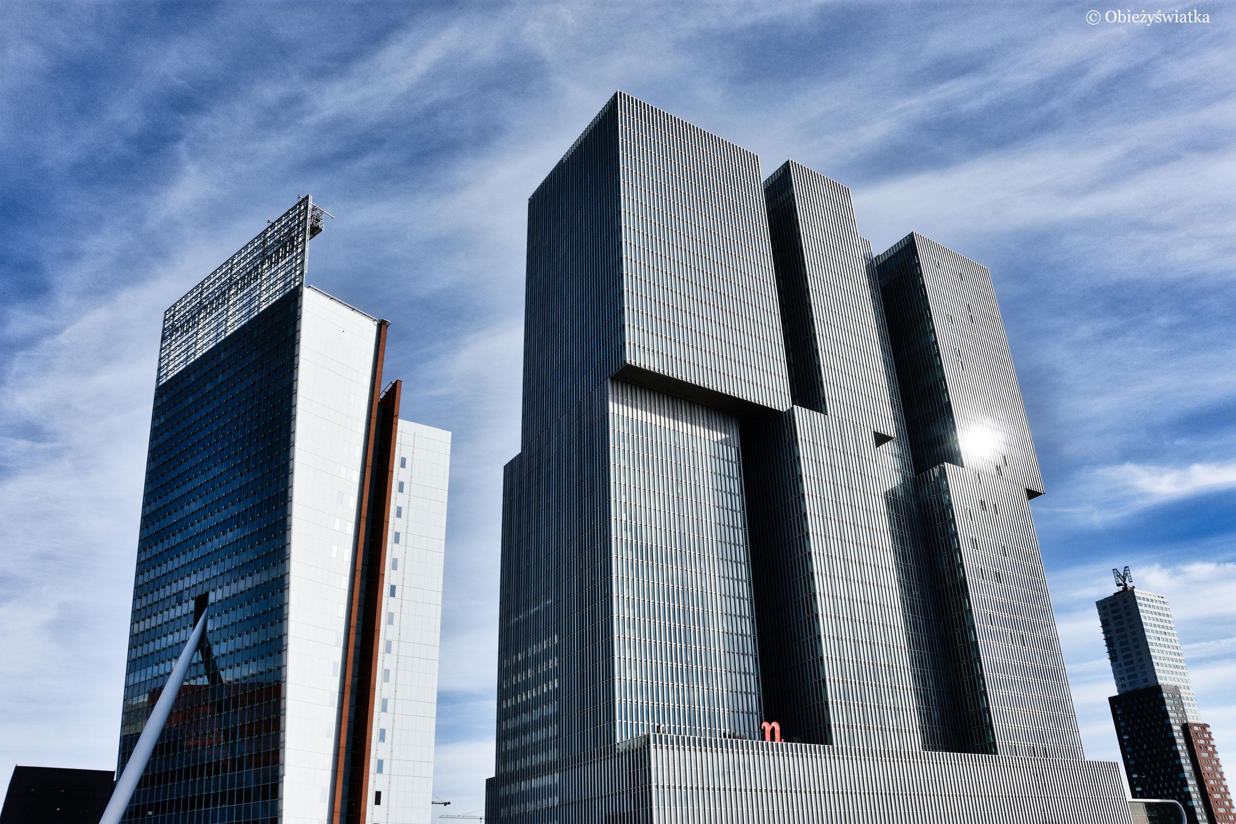 Pomysłowe bryły - De Rotterdam i Toren op Zuid, Rotterdam