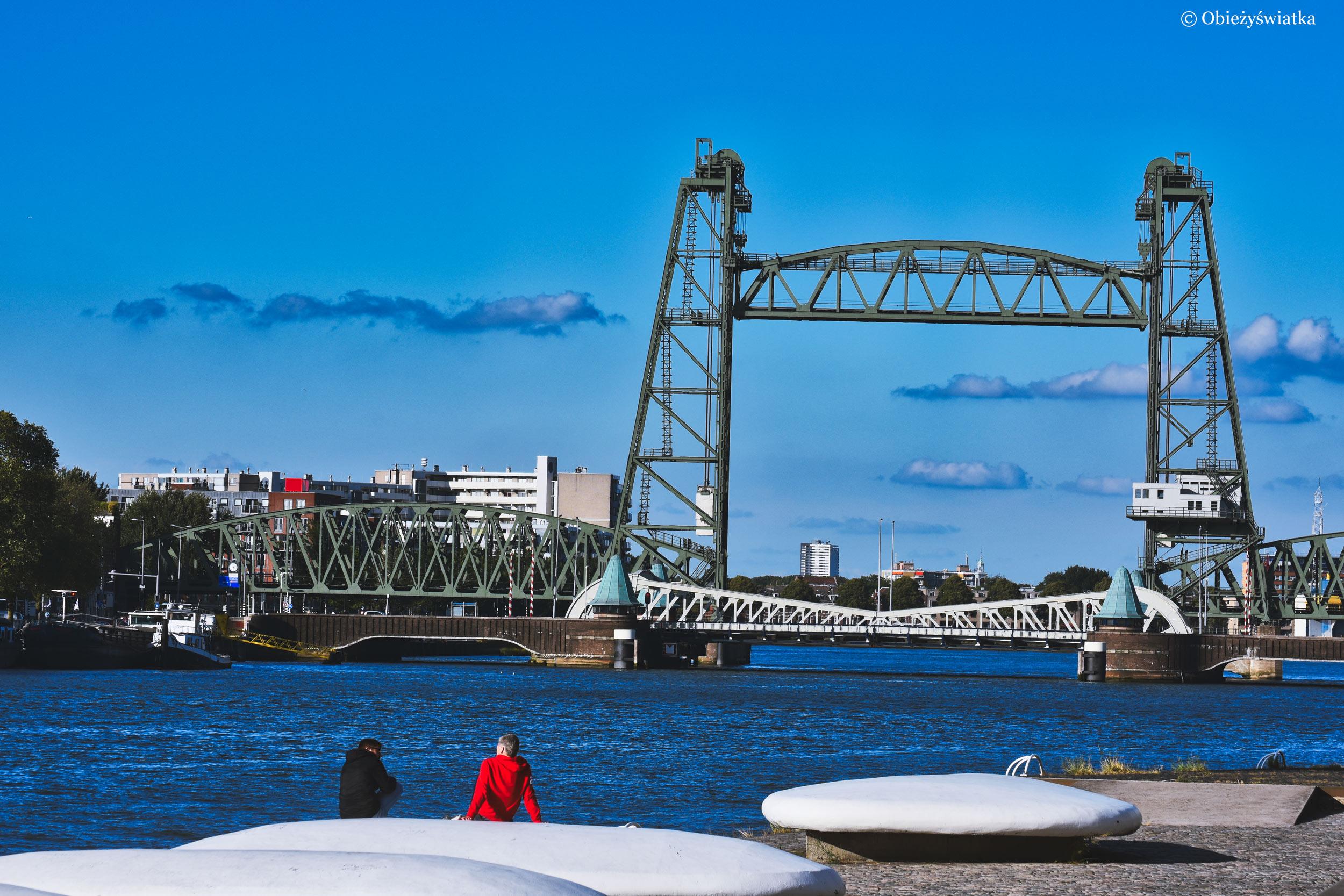 Mosty Rotterdamu: De Hef i Koninginnebrug