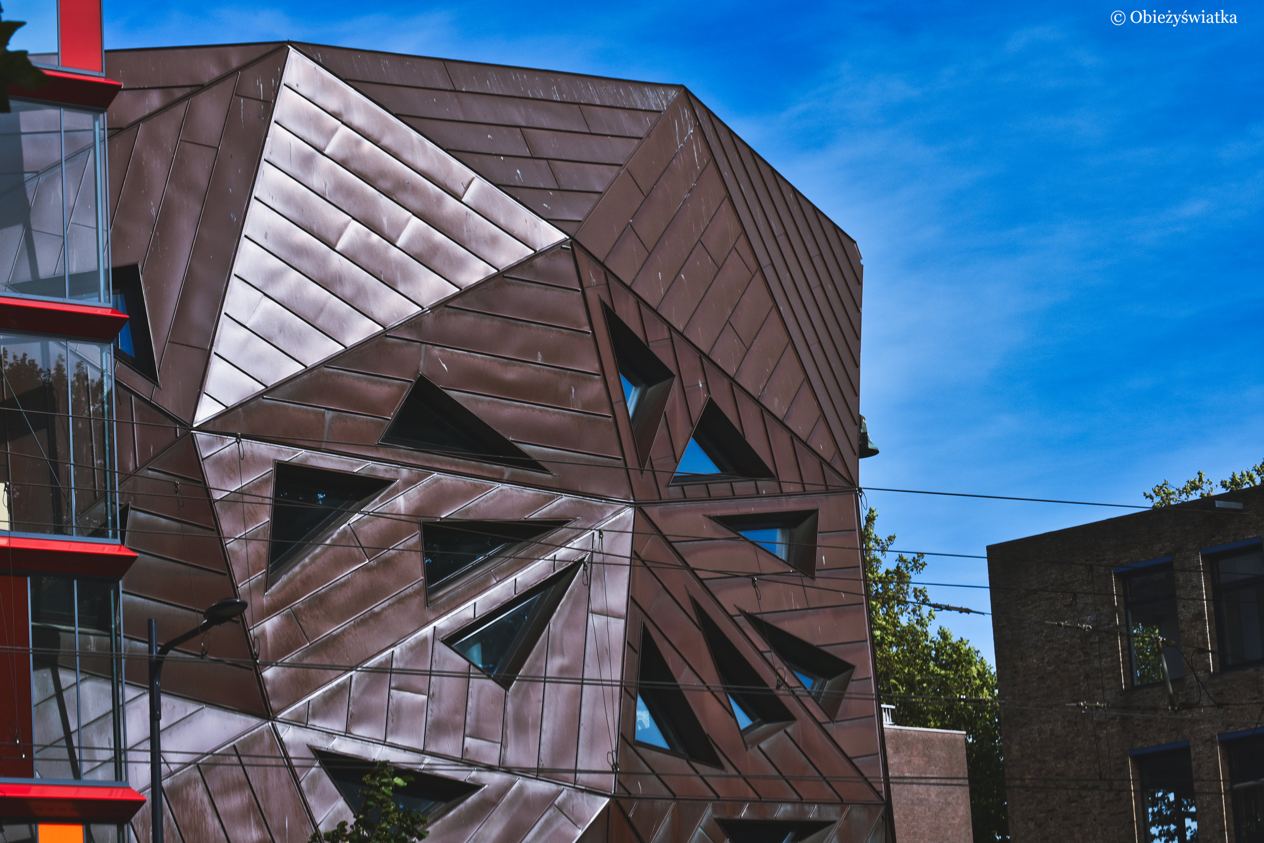 Futurystyczny kościół - Pauluskerk w kompleksie Calypso, Rotterdam