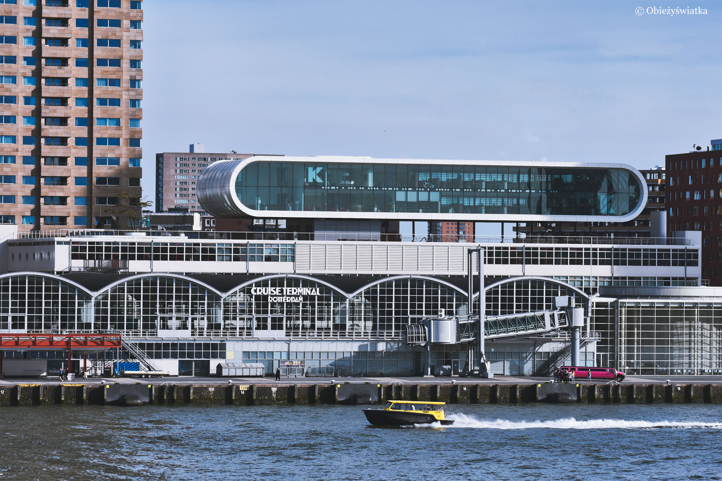 Cruise Terminal w Rotterdamie