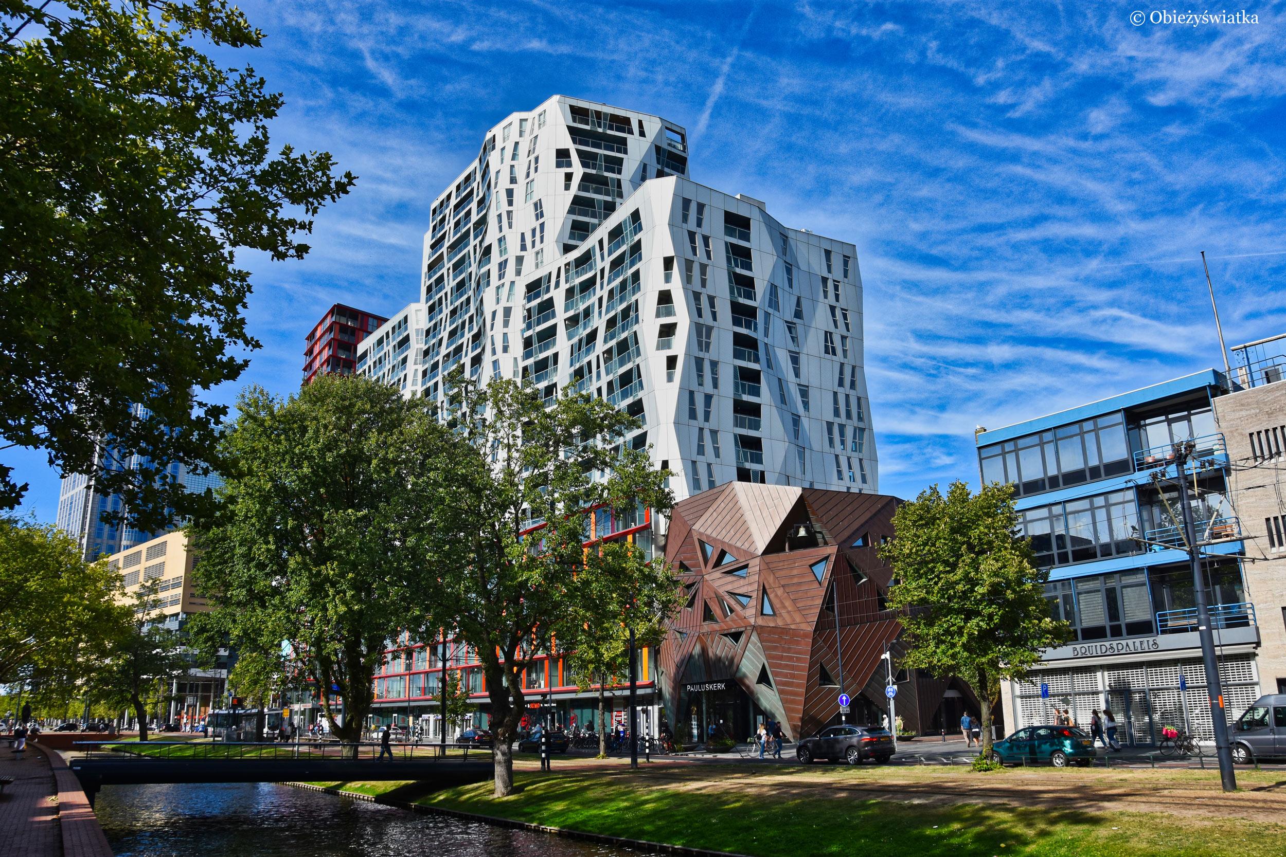 Nowoczesny kompleks Calypso, Rotterdam