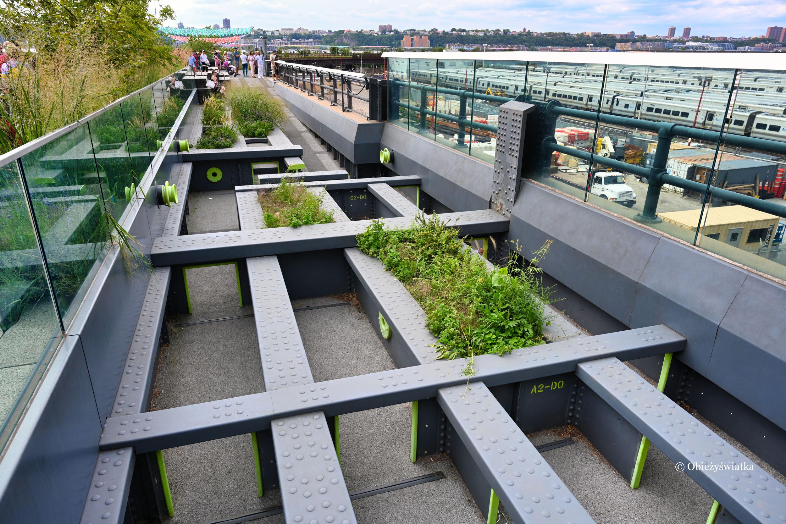Połączenie natury z przemysłem - The High Line, Nowy Jork