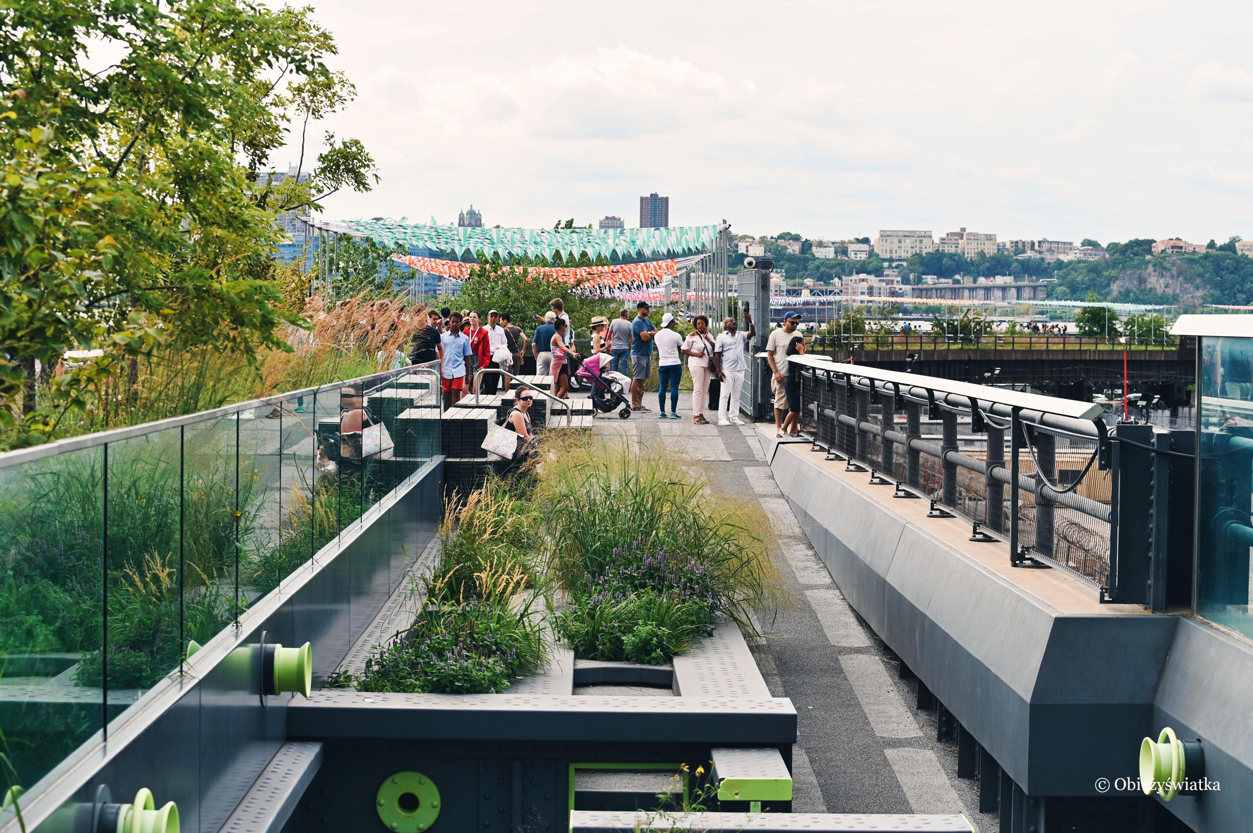 The High Line - pozostałości po trasie kolejowej