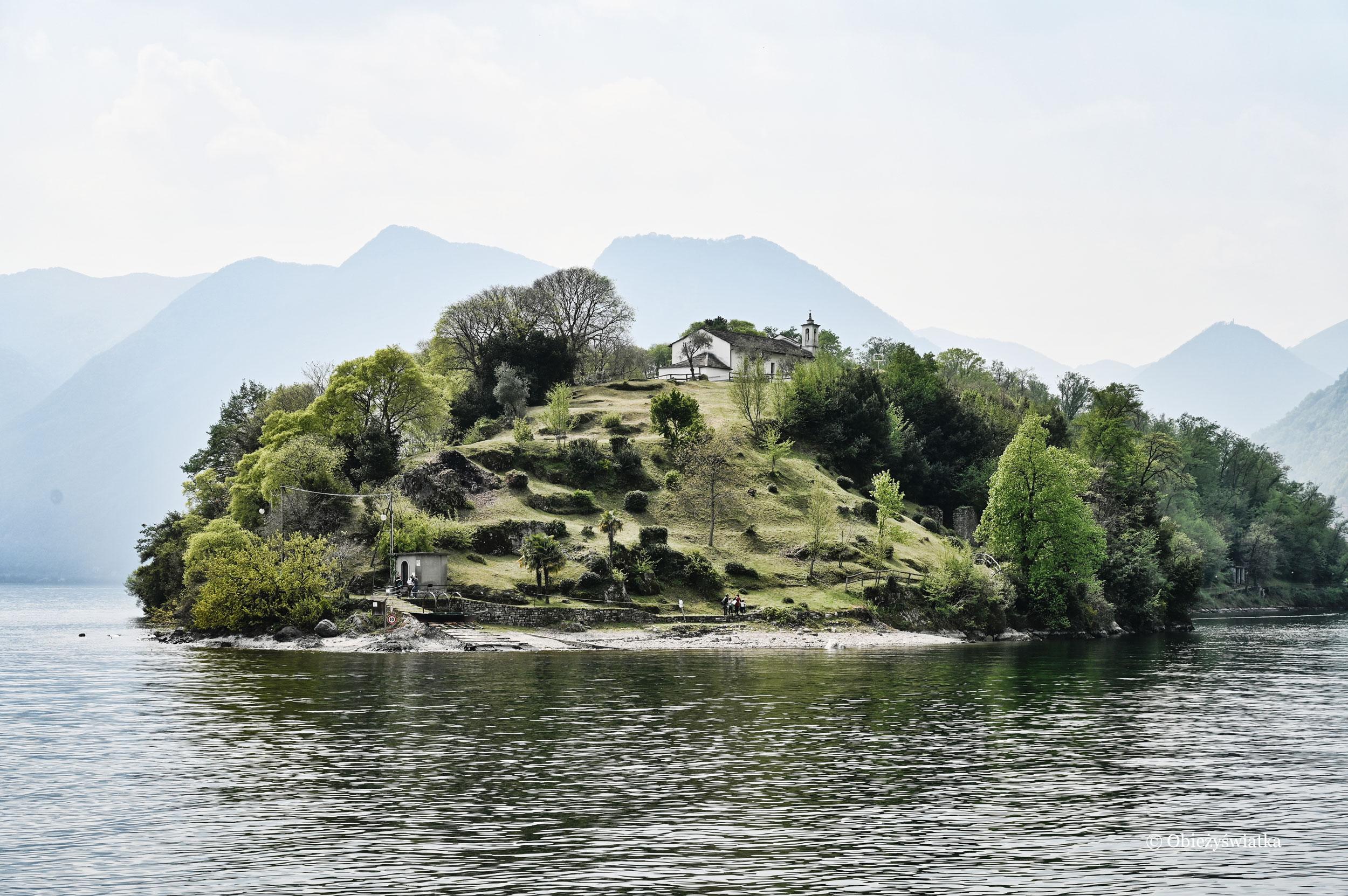 Jezioro i Isola Comacina, Jezioro Como