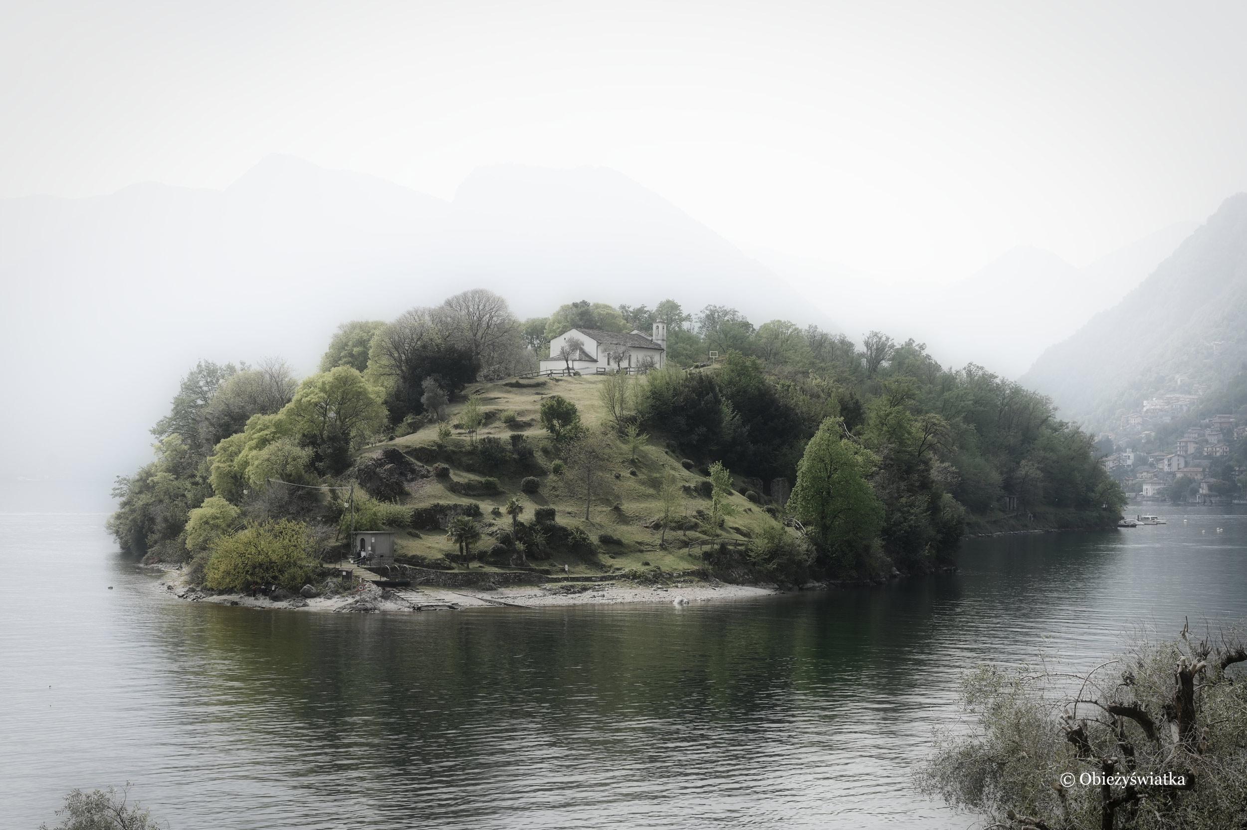 Rozmarzona Isola Comacina, Lago di Como