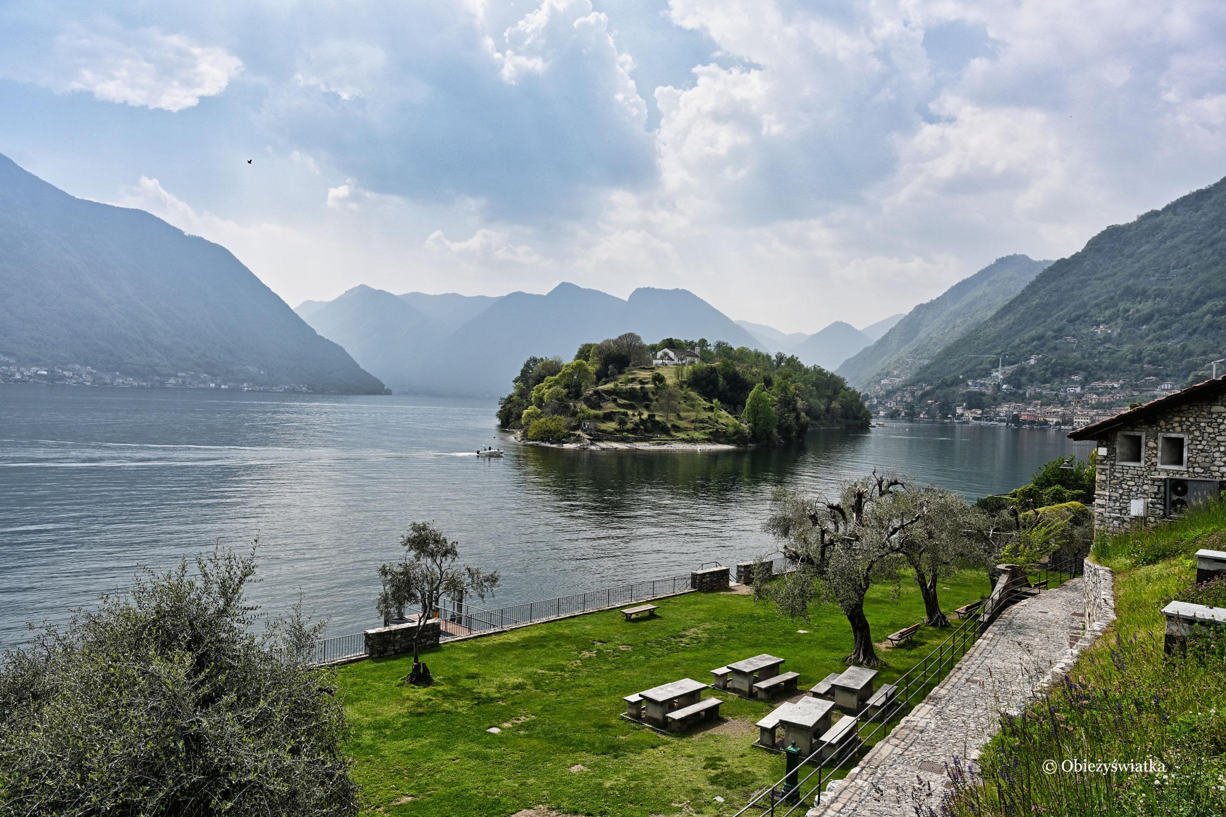 Isola Comacina i Lago di Como, Włochy