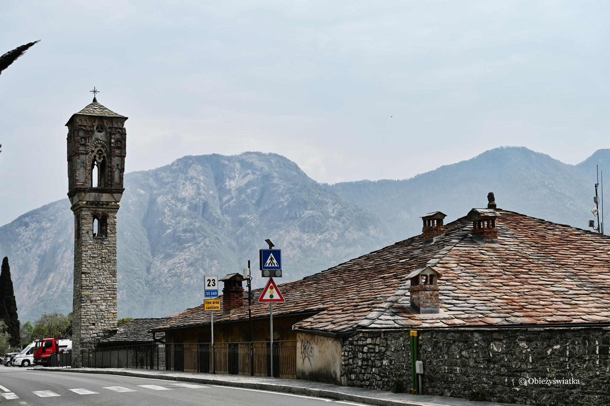 Kościółek Marii Magdaleny nad Jeziorem Como, Włochy