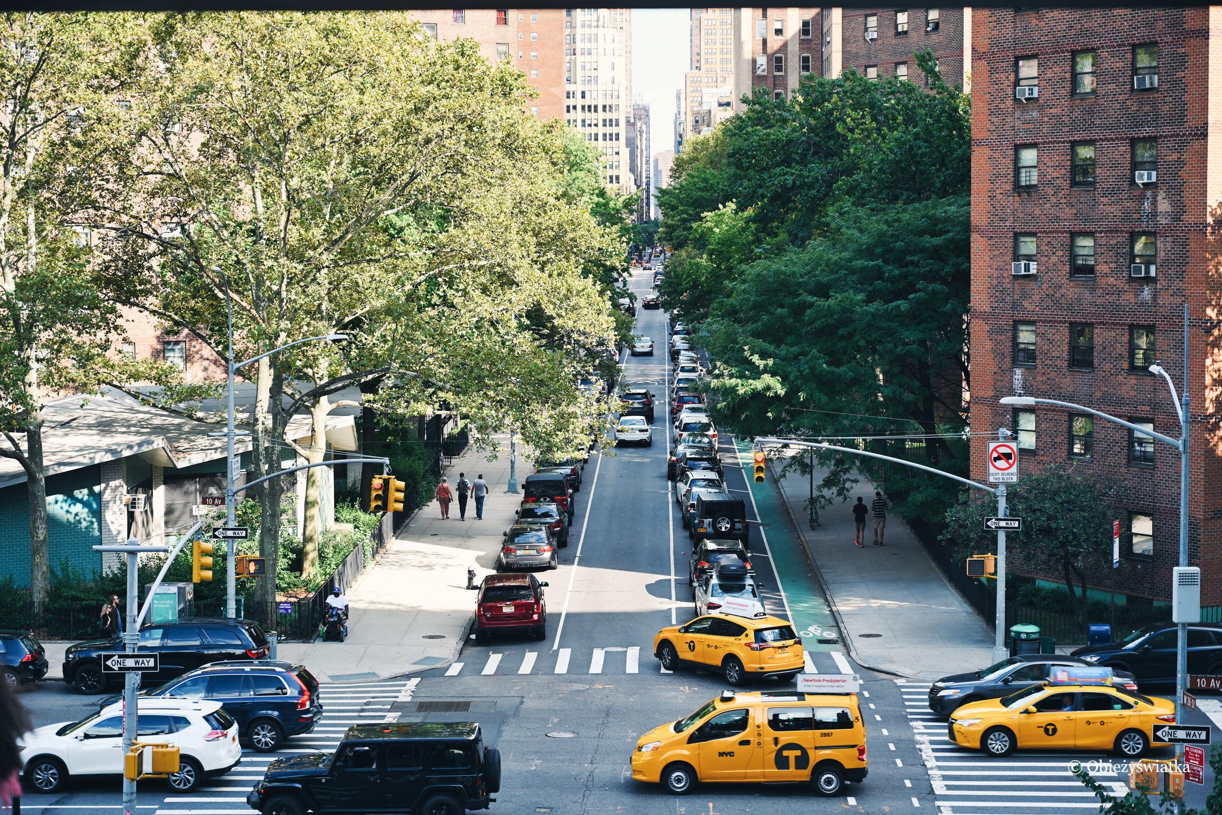Żółte taksówki - Nowy Jork