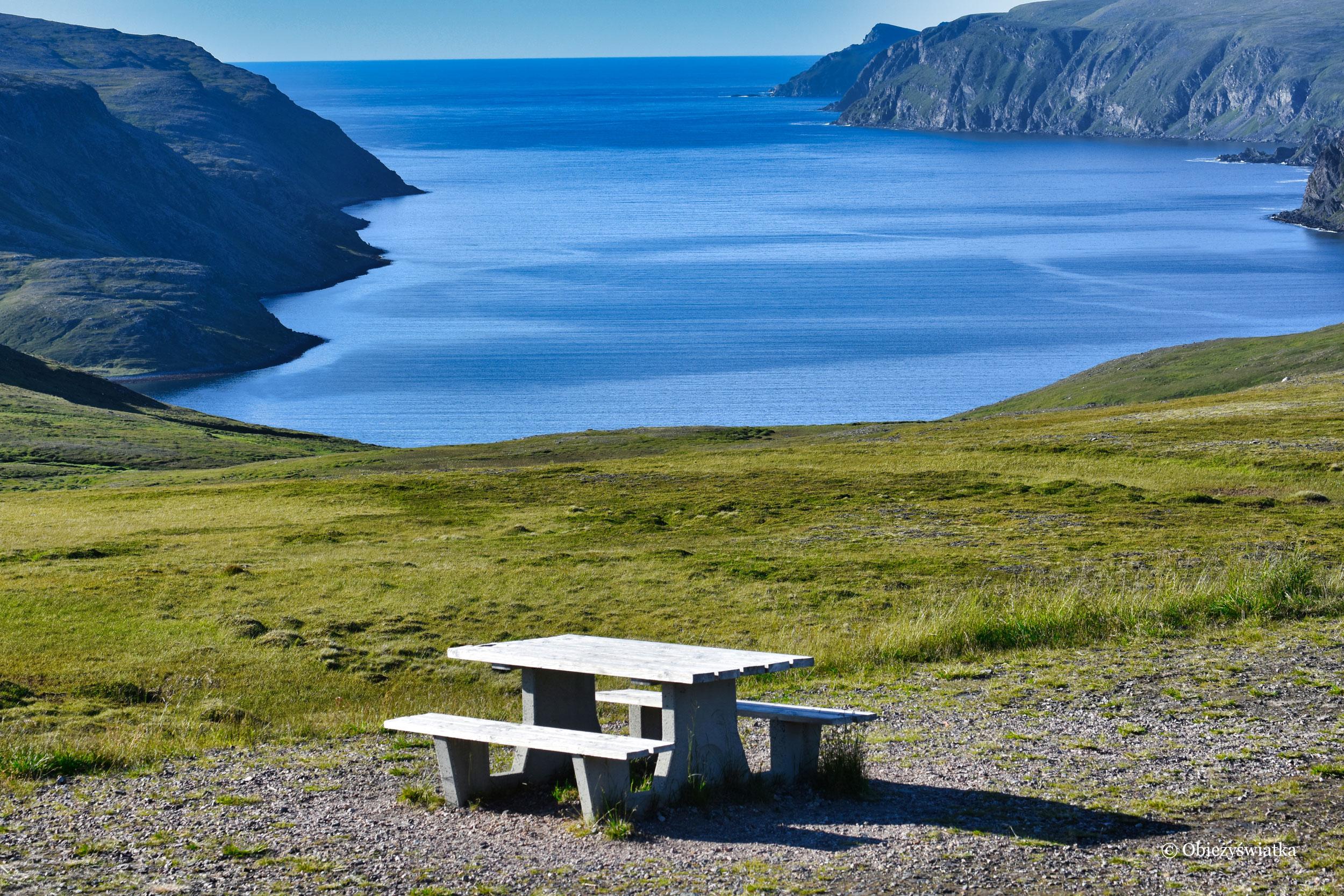 W drodze na Przylądek Północny, Norwegia