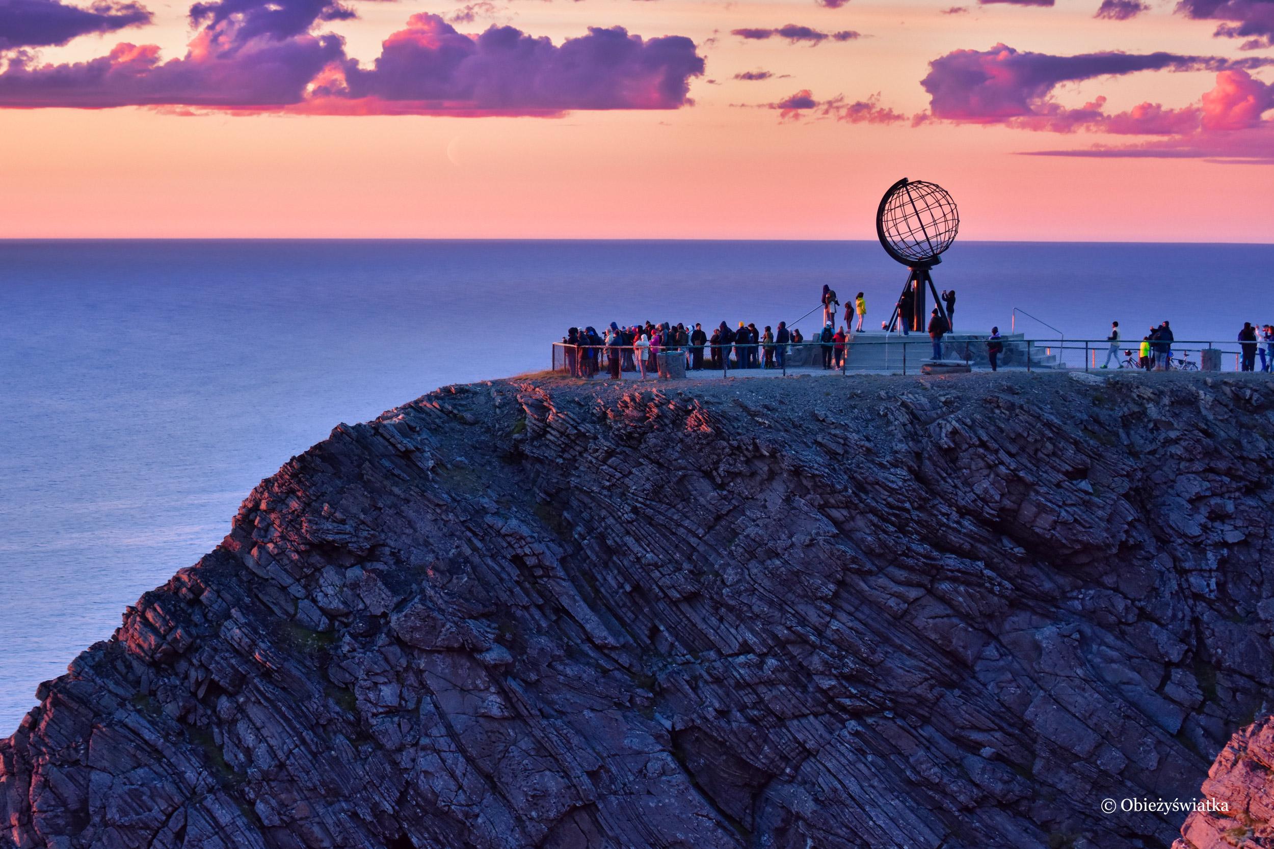 W stronę słońca, Nordkapp, Norwegia