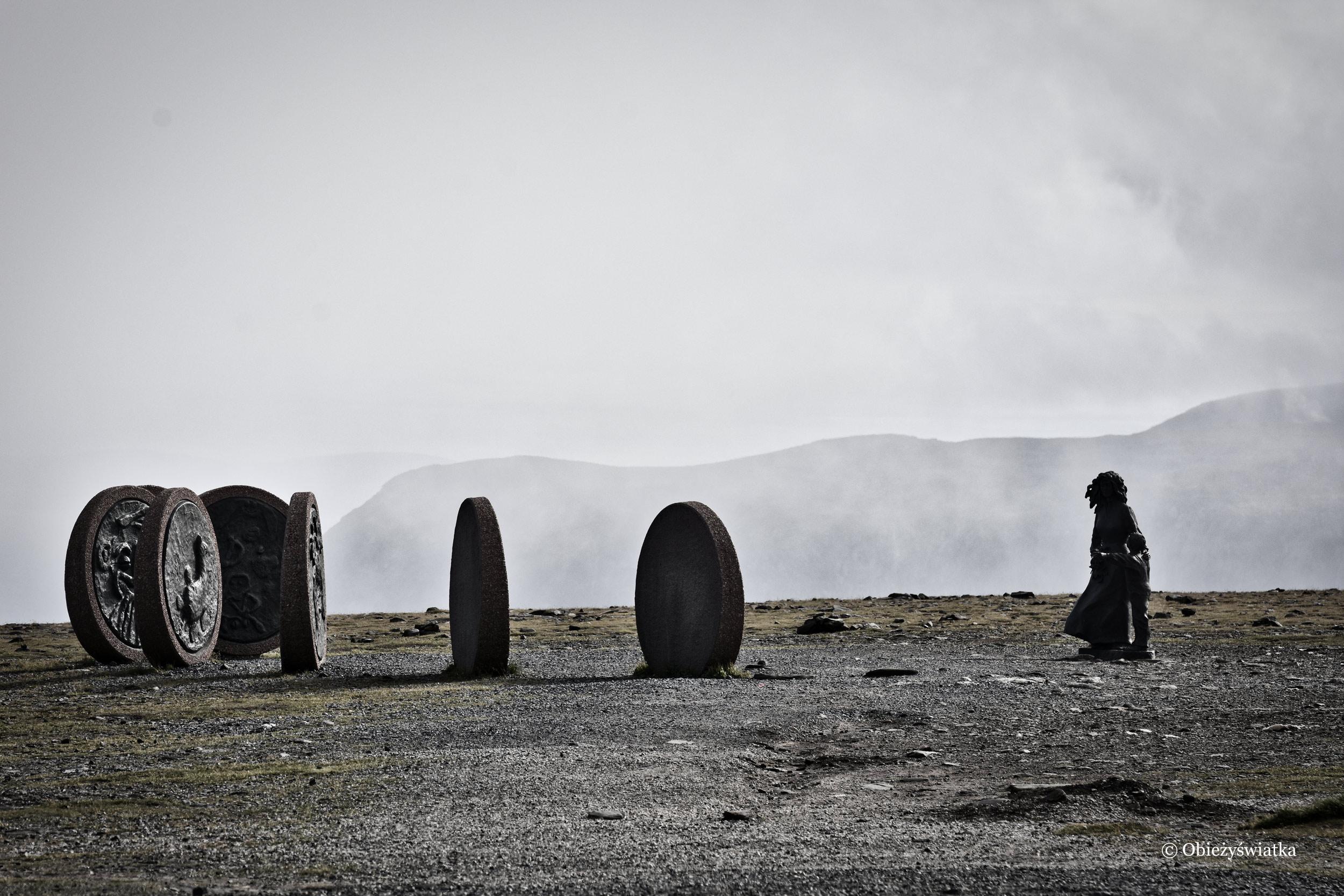 Pomnik Dzieci Świata, Nordkapp, Norwegia