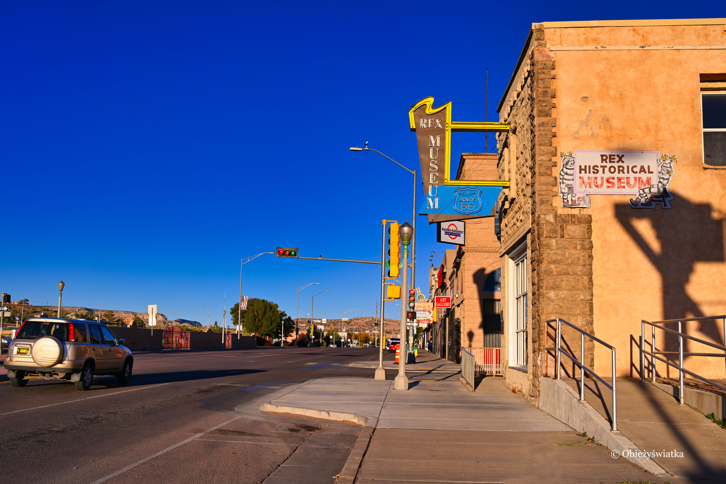 Gallup, Nowy Meksyk - jedno z miasteczek na trasie Route 66