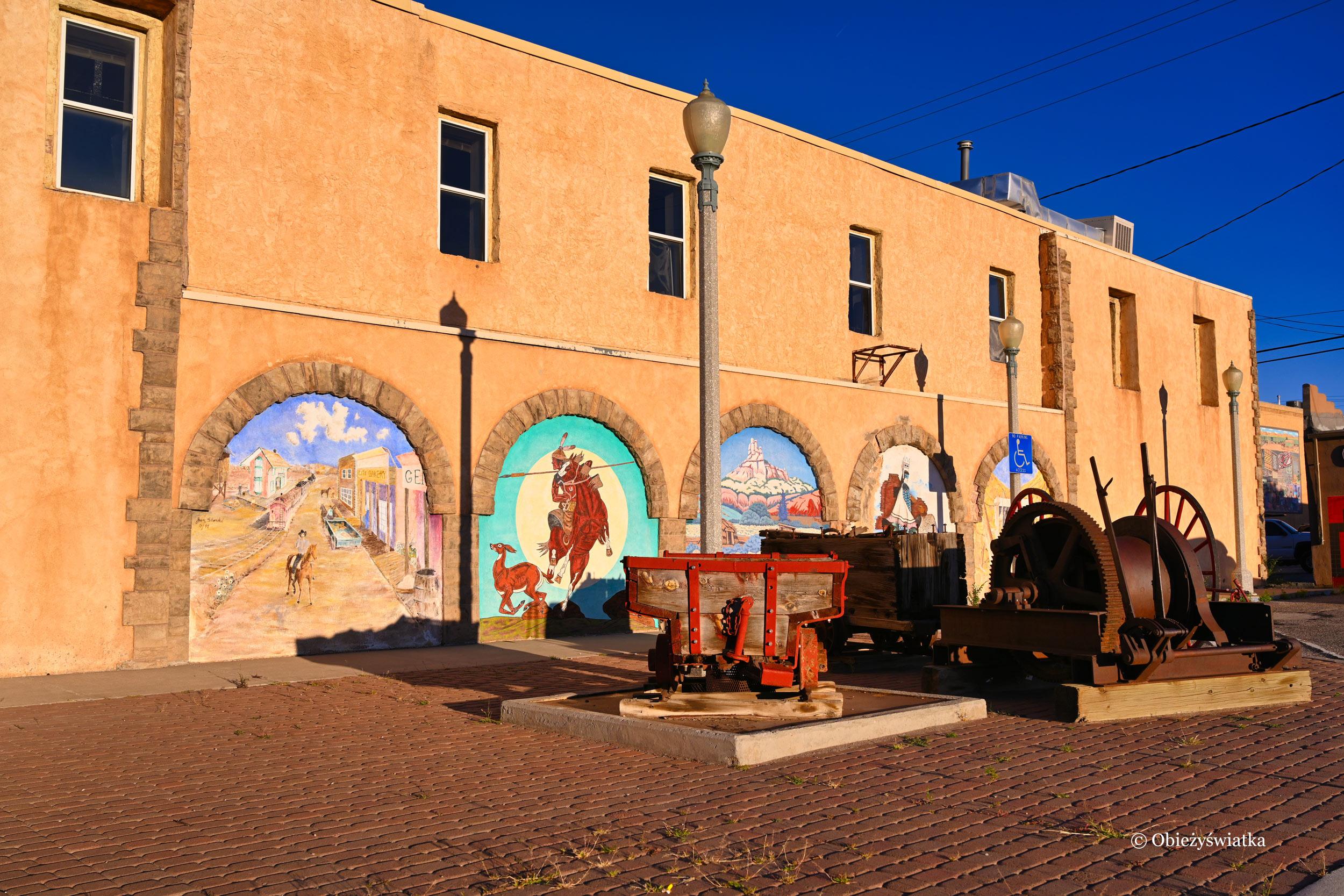 Gallup, Nowy Meksyk - jedno z miasteczek na drodze Route 66