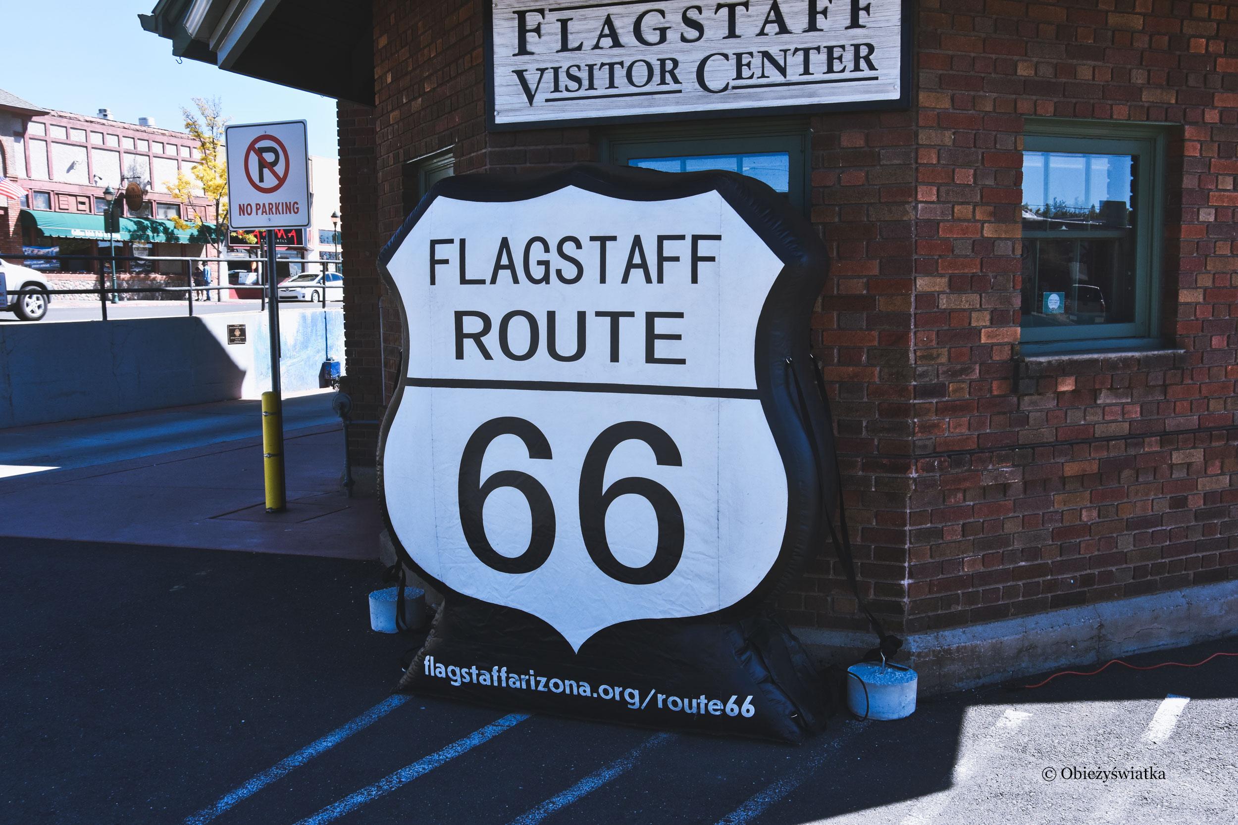 Flagstaff, Arizona - na trasie drogi 66