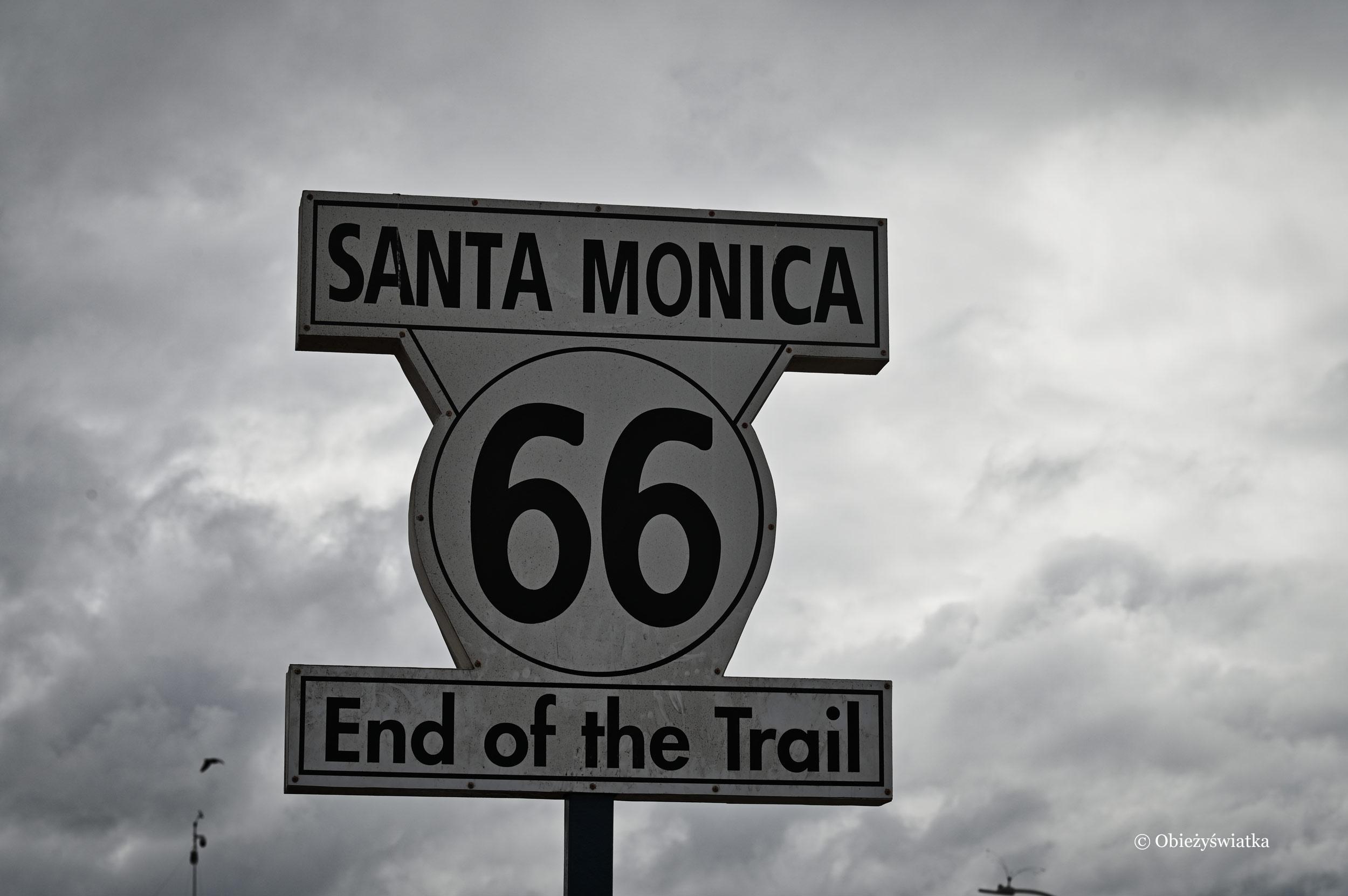 Santa Monica, koniec legendarnej trasy 66