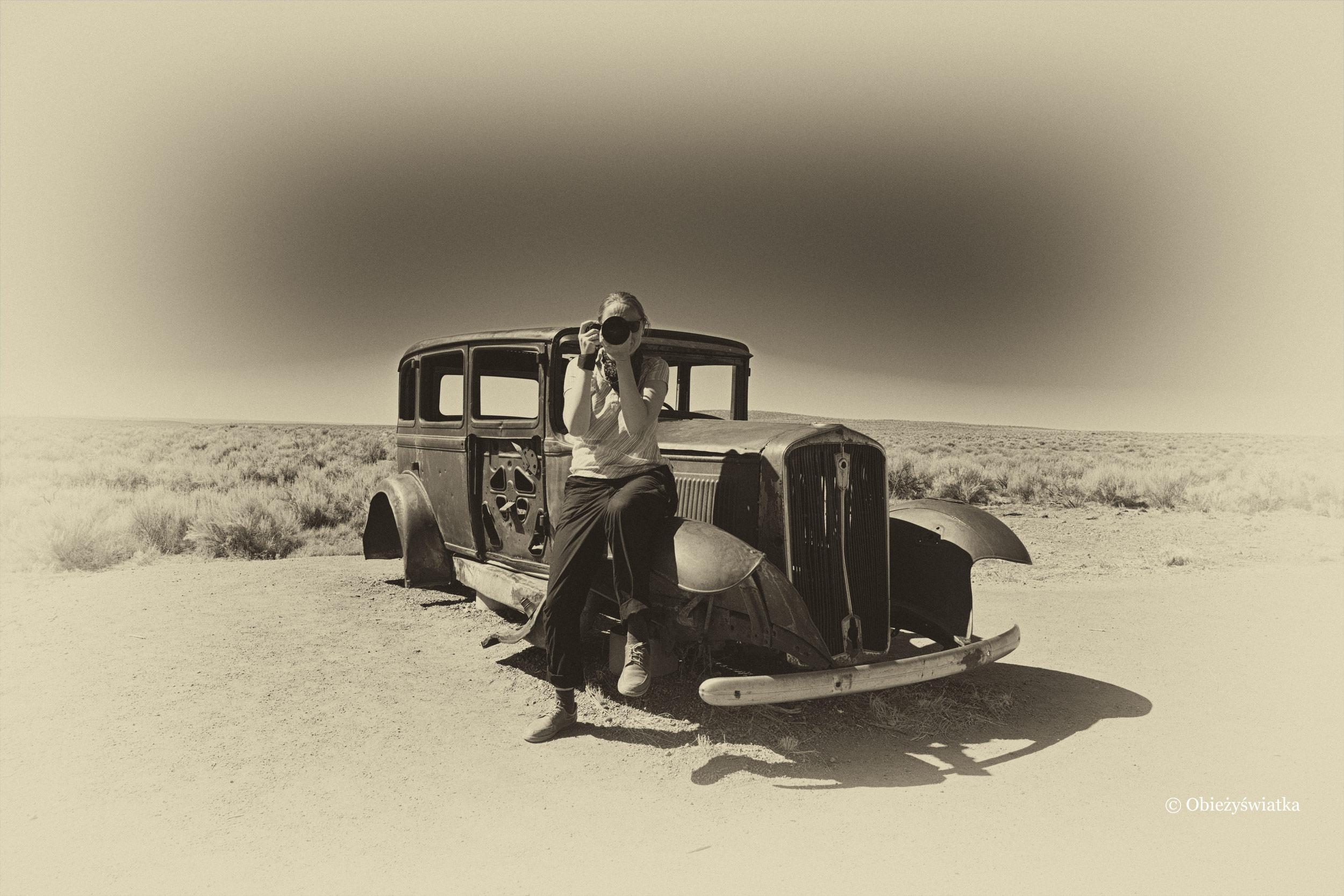 Obieżyświatka i Route 66 - podróż w czasie ;)