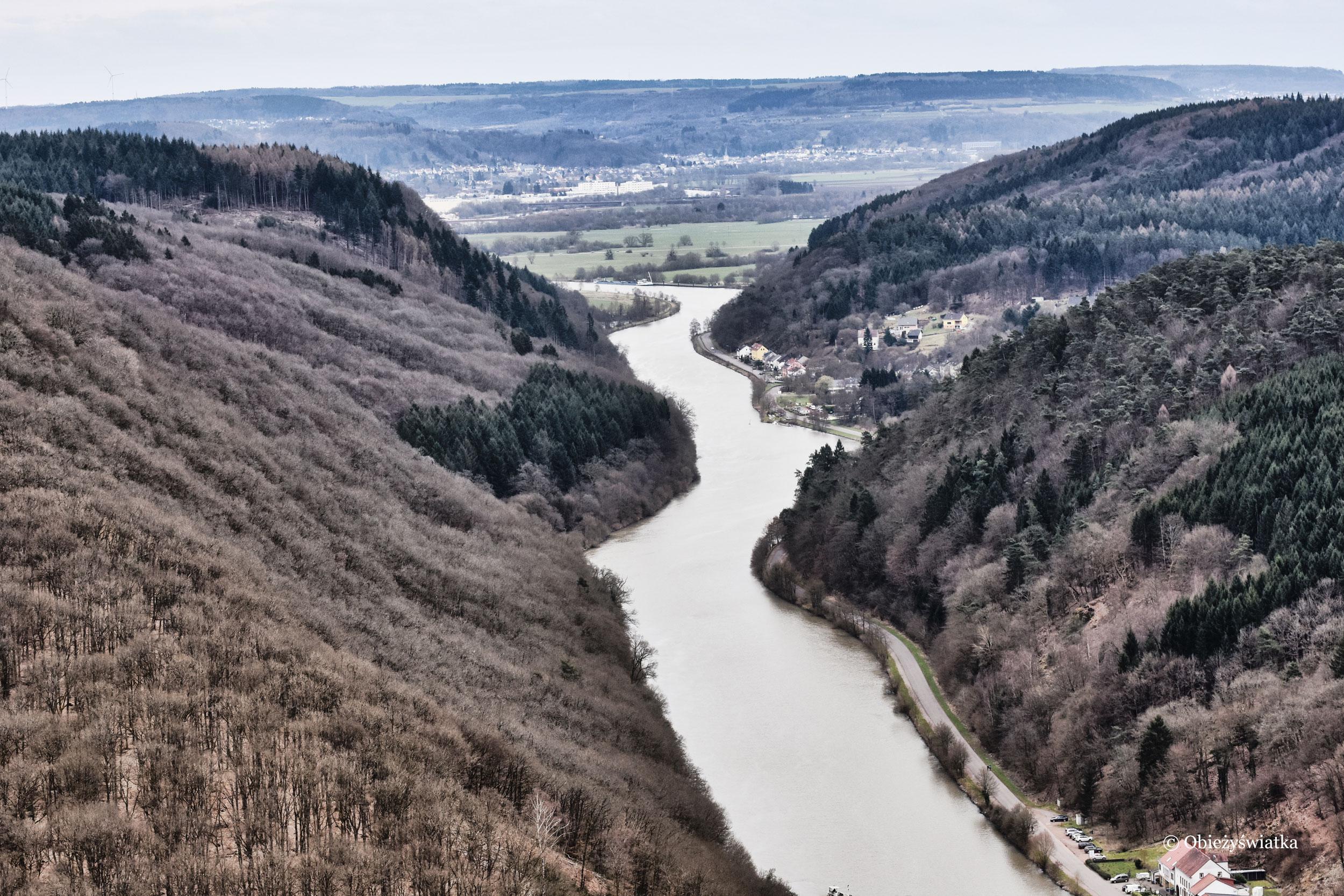 Wijąca się rzeka Saara, Niemcy