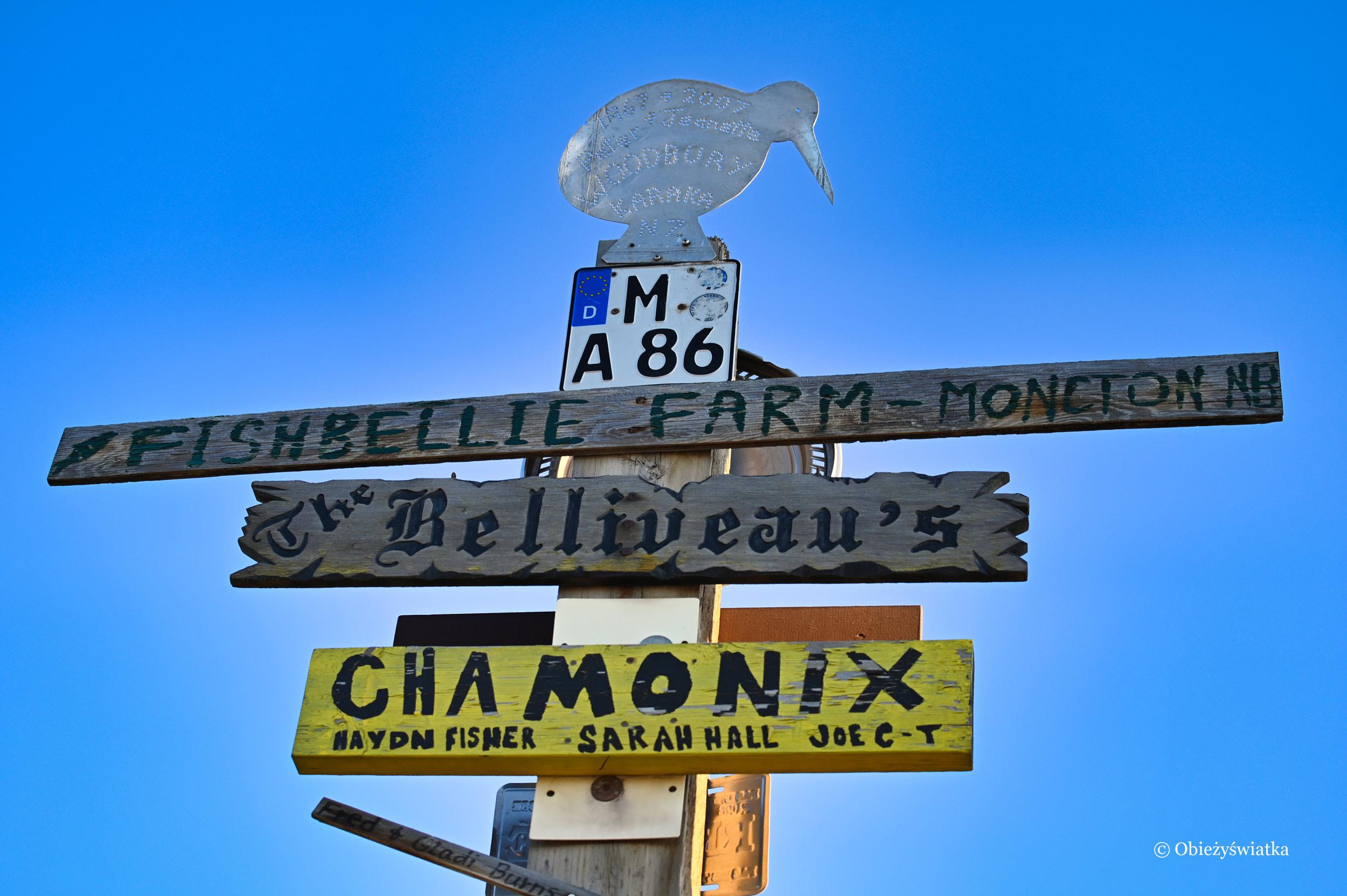 Fantazji nie ma granic - Sign Post Forest, Watson Lake