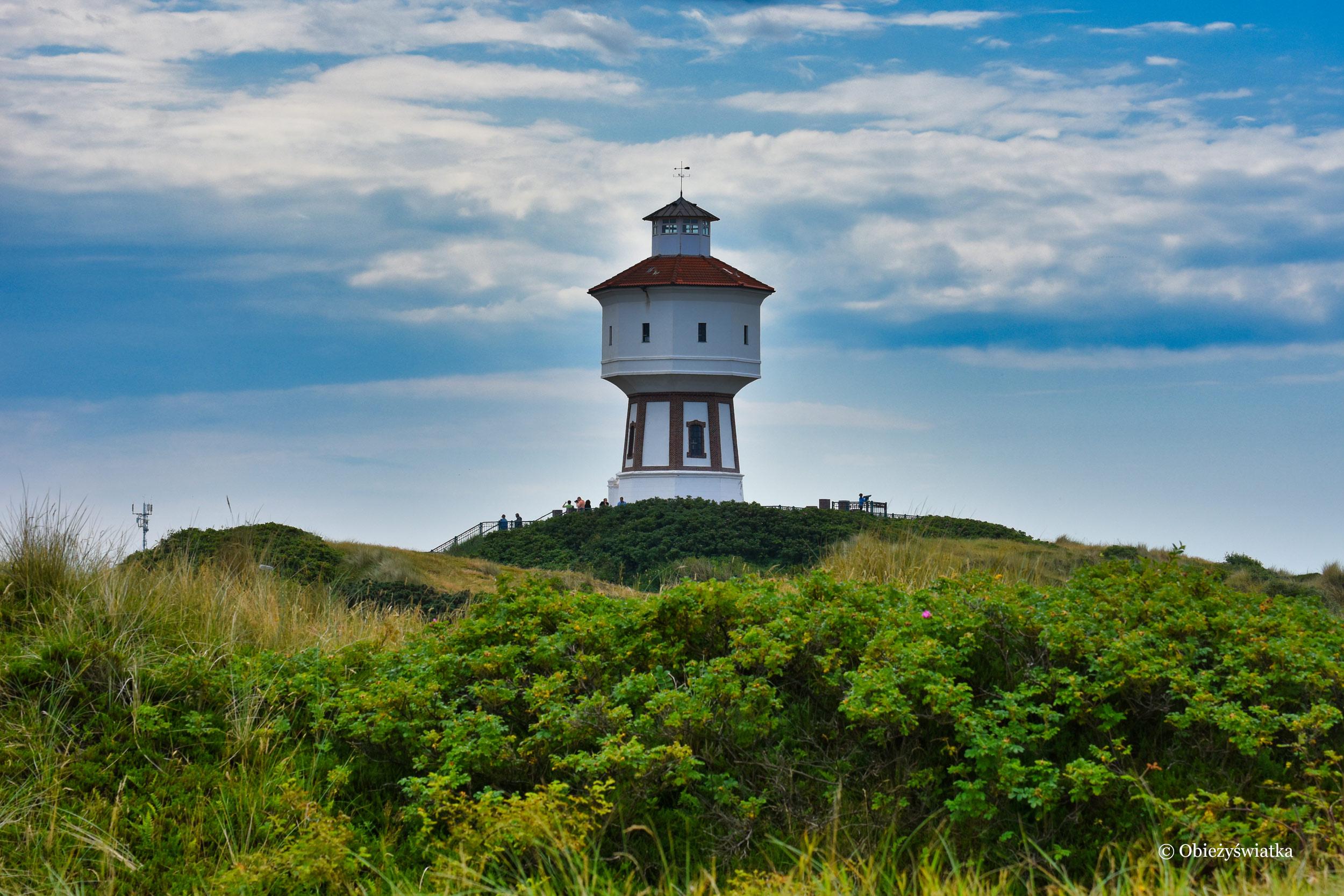 Wieża ciśnień na Wyspie Langeoog