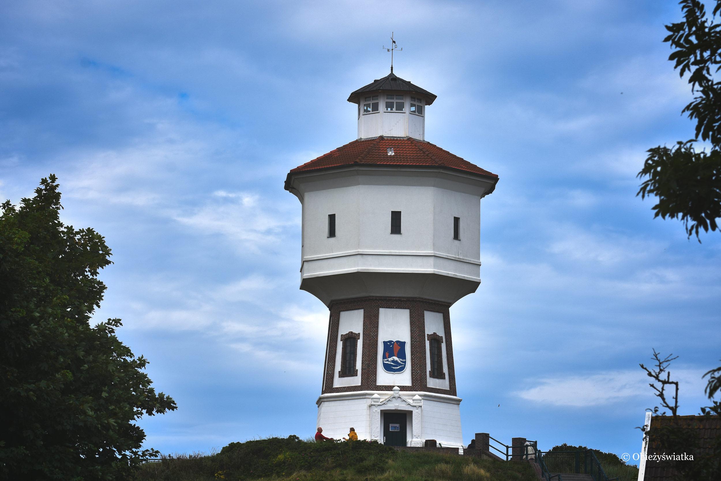 Wieża ciśnień na Wyspie Langeoog, Niemcy